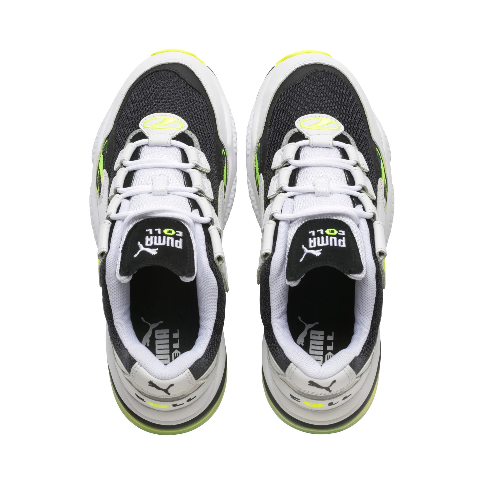 Thumbnail 6 of CELL Venom Hype Trainers, Pu Black-P White-Yell Alert, medium