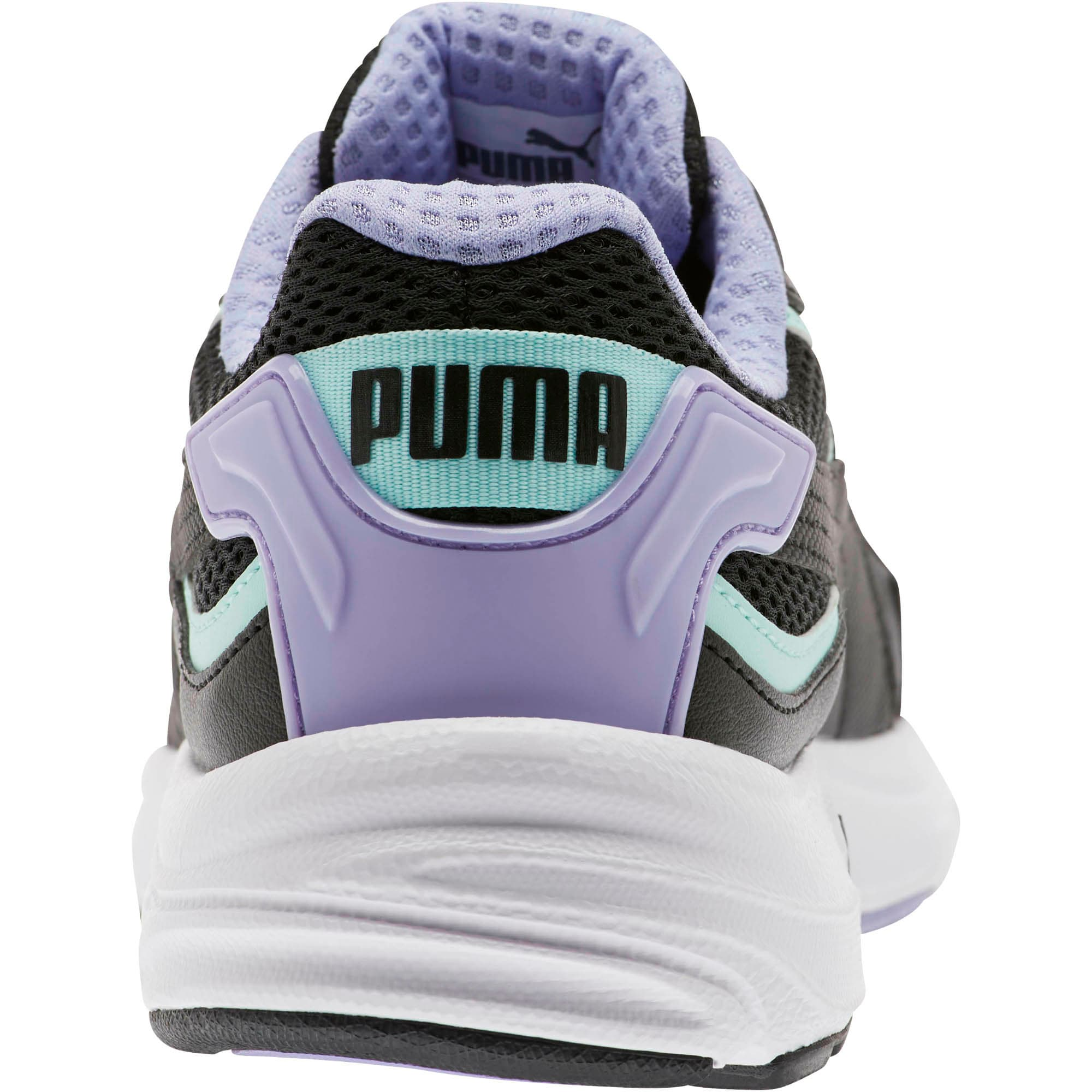 Thumbnail 3 of Axis Plus 90s Women's Sneakers, Black-F Aqua-S Lavender-Wht, medium