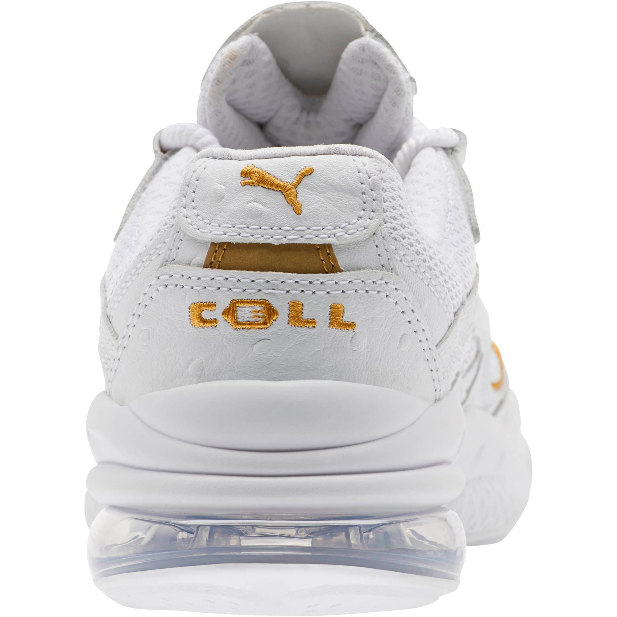 Thumbnail 3 of CELL Venom WO Women's Sneakers, Puma White-Puma Team Gold, medium