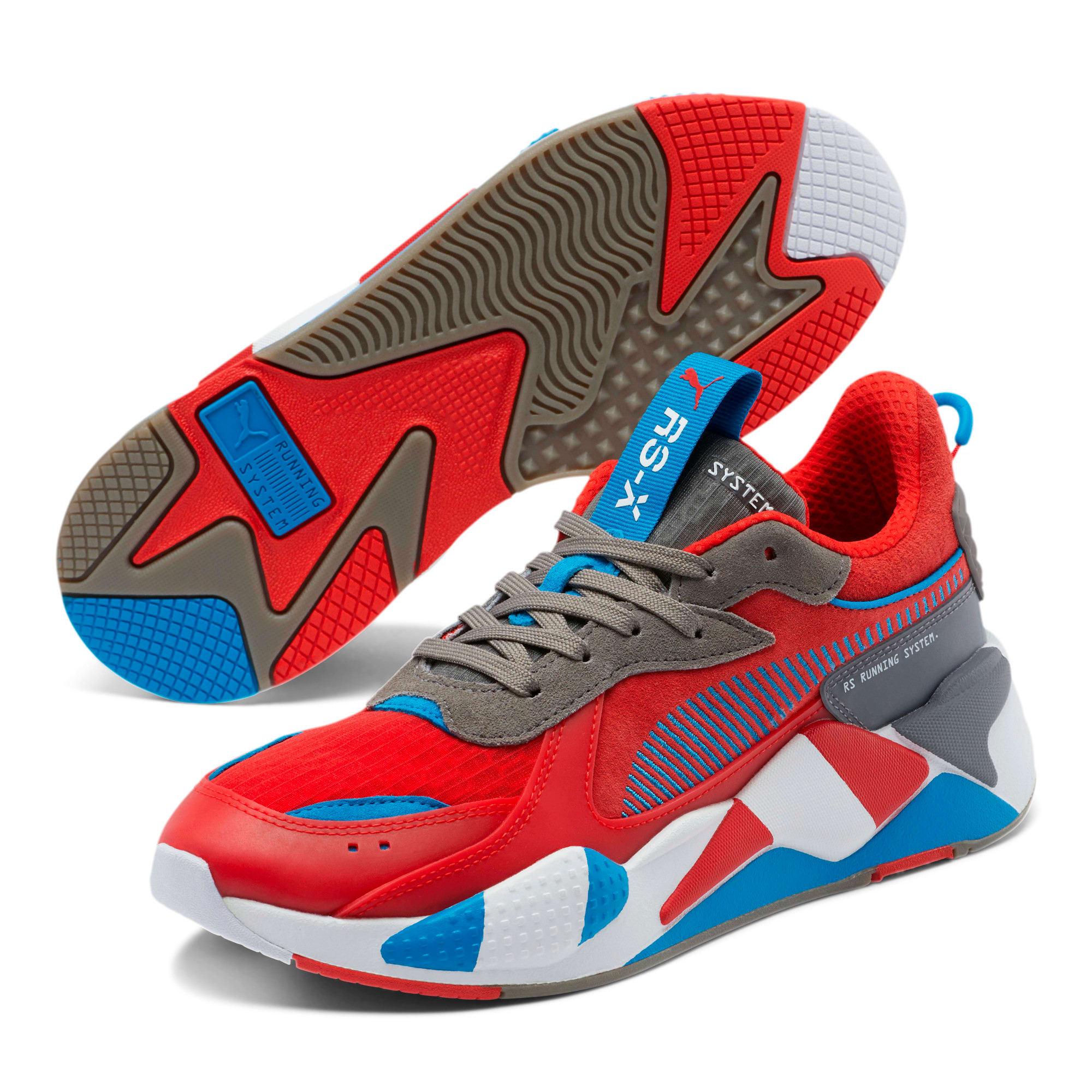 Miniatura 2 de Zapatos deportivos RS-X Retro, Red-Steel Gray-Indigo, mediano