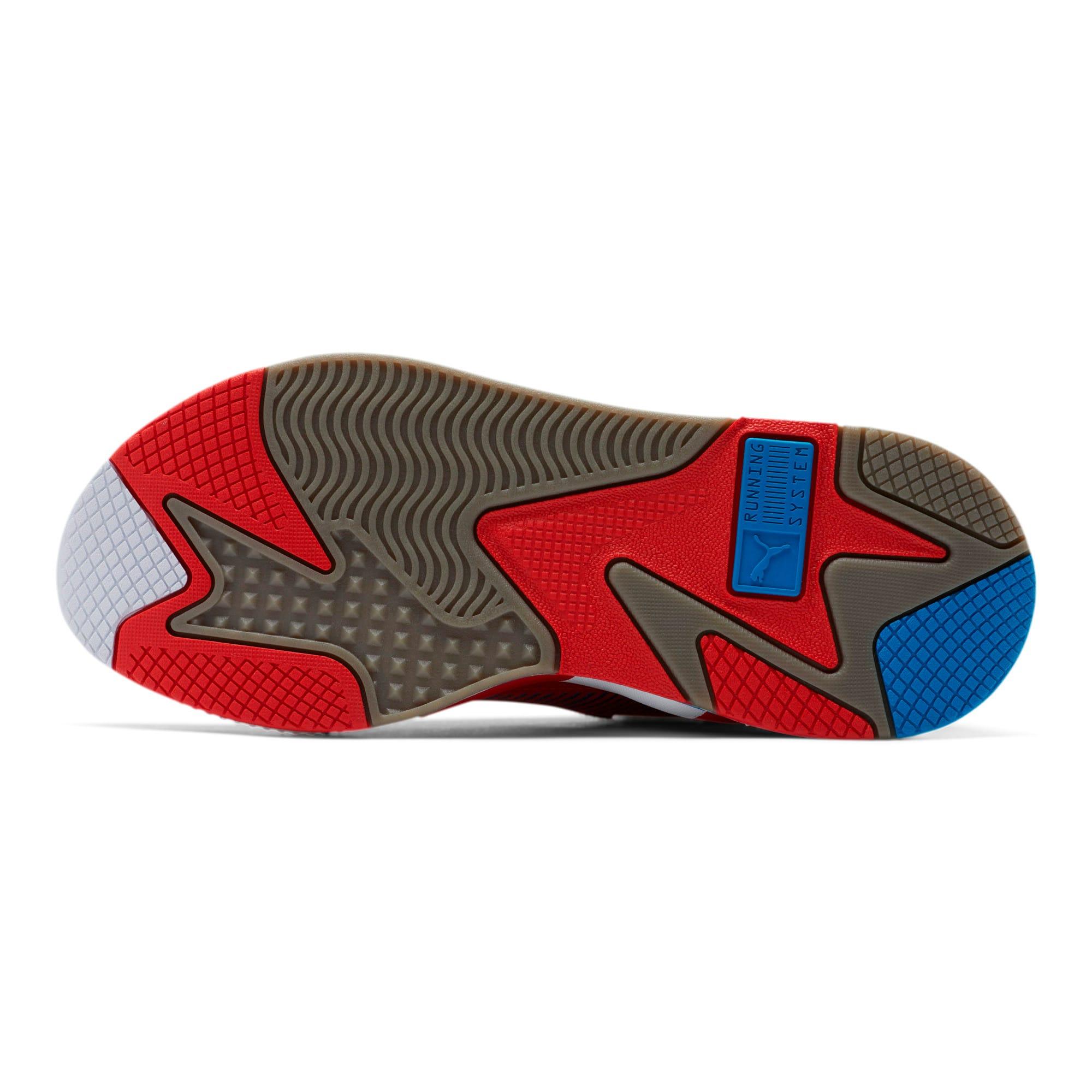 Miniatura 4 de Zapatos deportivos RS-X Retro, Red-Steel Gray-Indigo, mediano