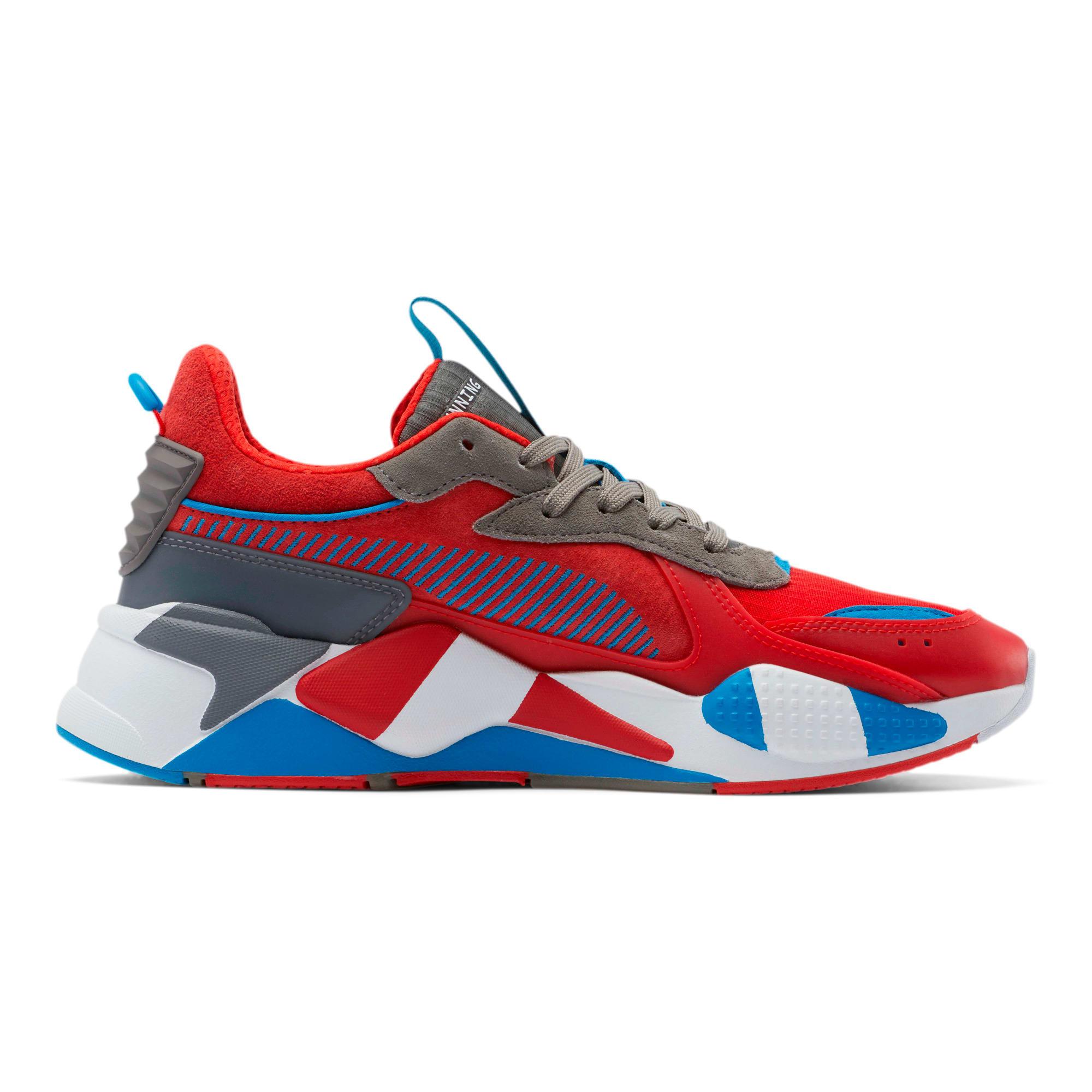 Miniatura 5 de Zapatos deportivos RS-X Retro, Red-Steel Gray-Indigo, mediano