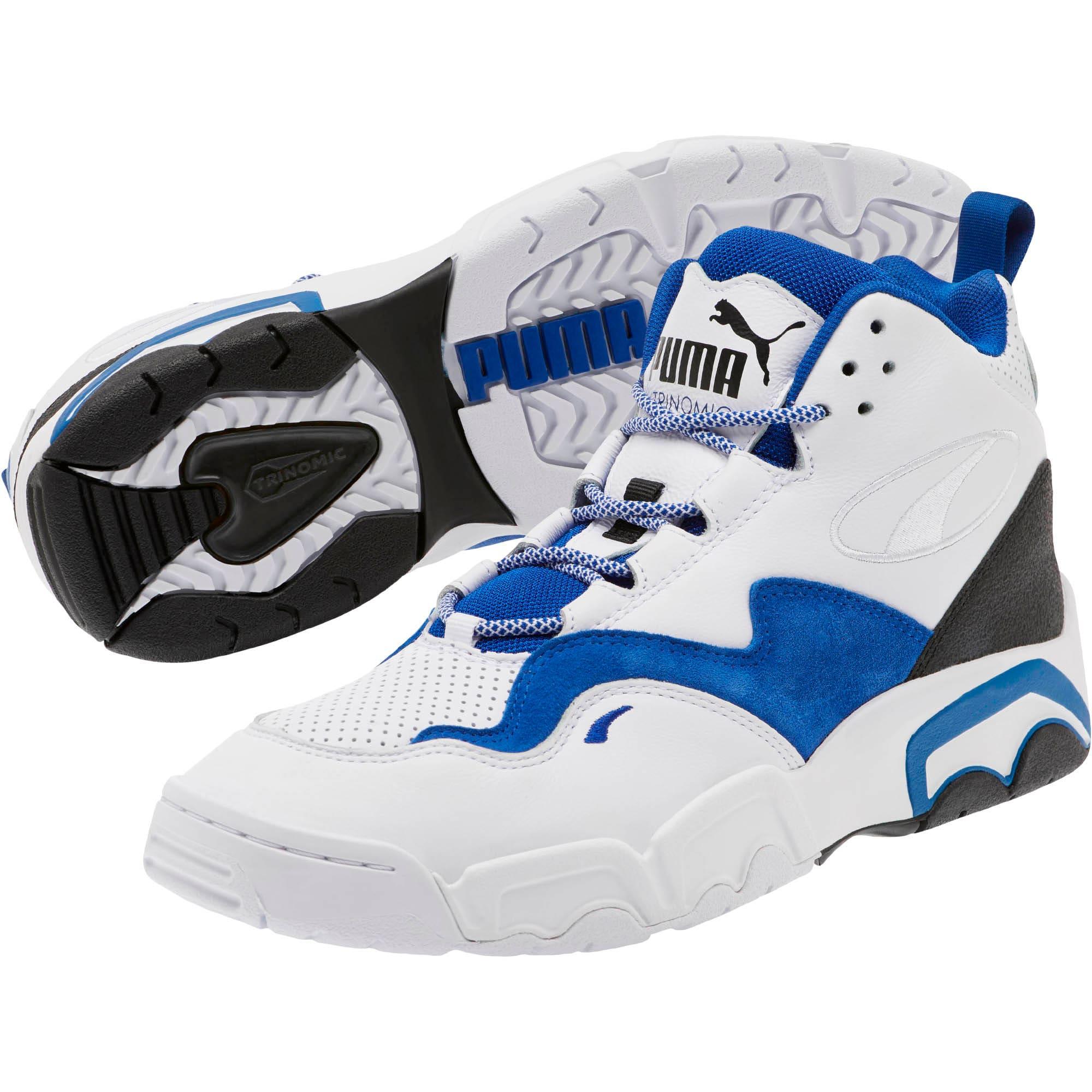 Miniatura 2 de Zapatos deportivos Source Mid Retro 2, P White-Surf The Web-Puma Bl, mediano