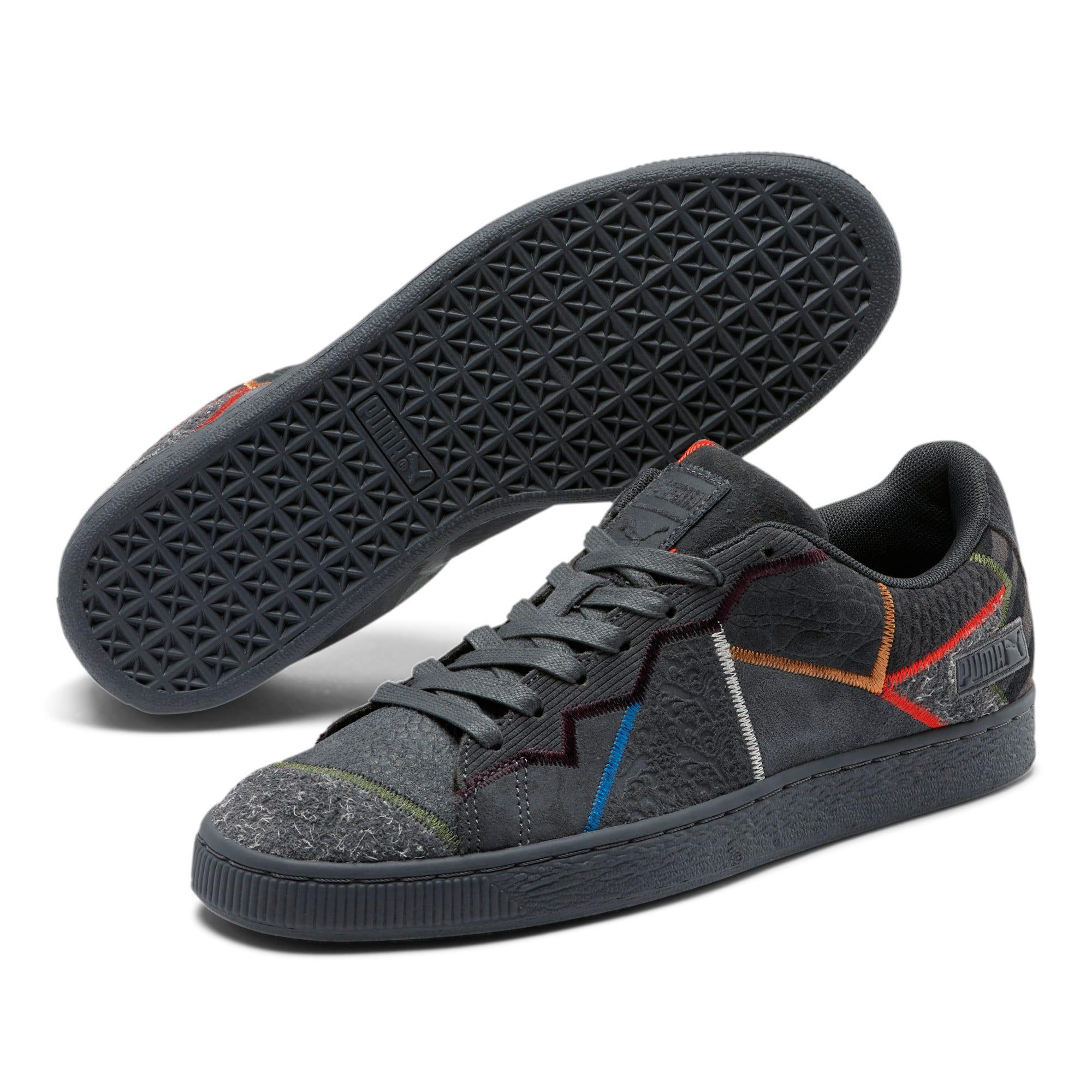 Thumbnail 2 of Suede RP Fashion Geek Sneakers, Asphalt, medium