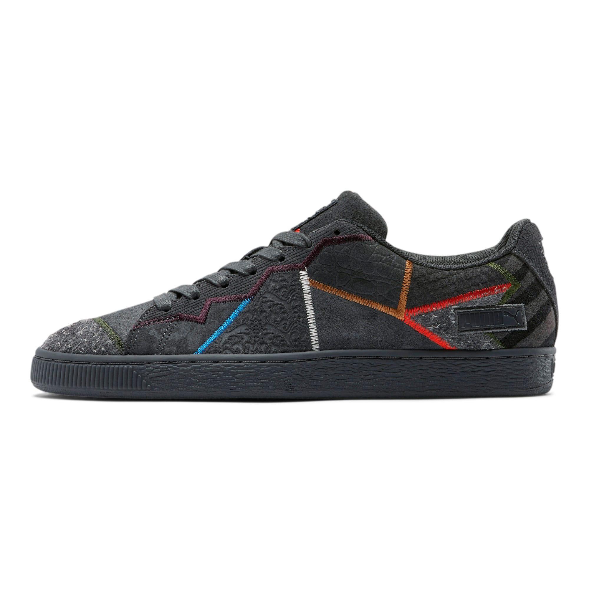 Thumbnail 1 of Suede RP Fashion Geek Sneakers, Asphalt, medium