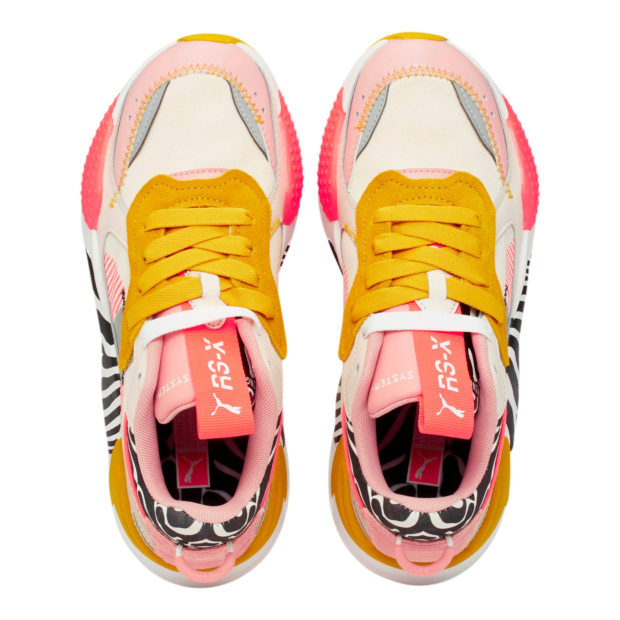 Thumbnail 5 of RS-X Unexpected Mixes Women's Sneakers, Pastel-Bridal Rose-Sulphur, medium