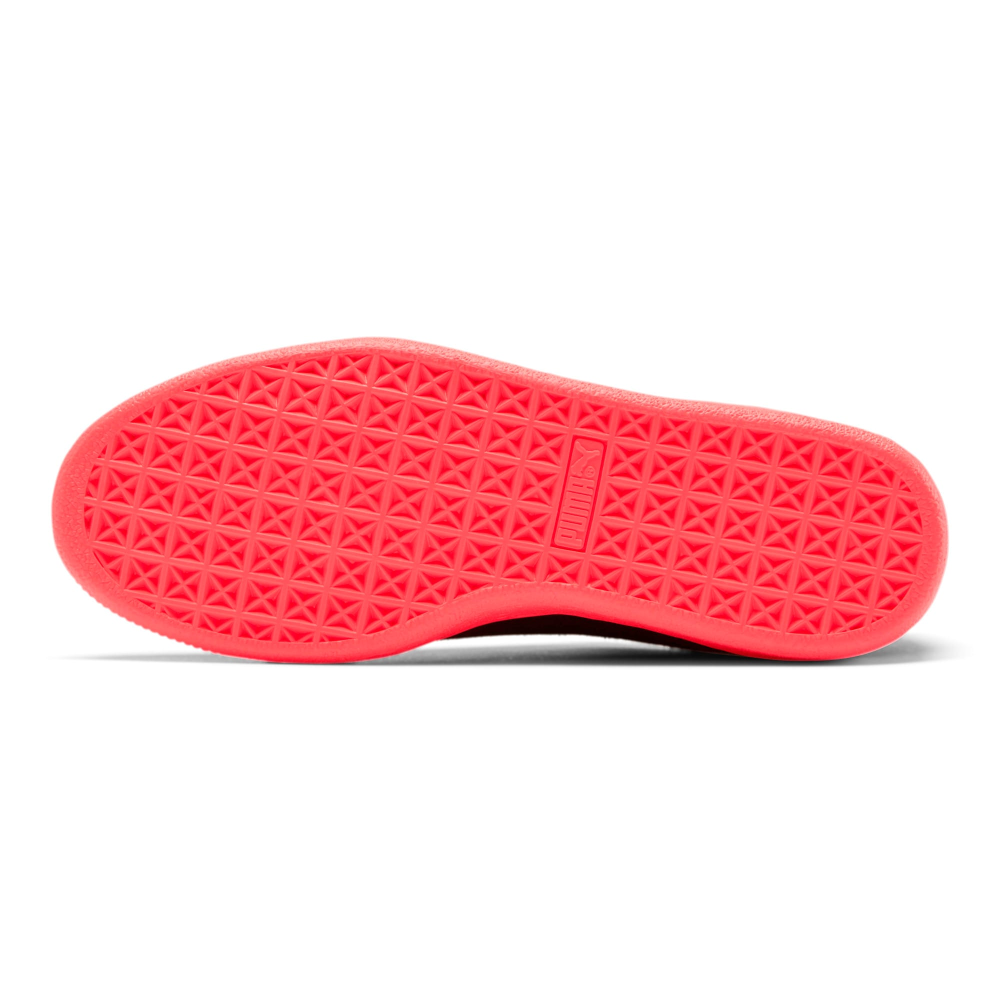 Thumbnail 4 of Suede Classic Glitz Women's Sneakers, Pink Alert-Puma Black, medium