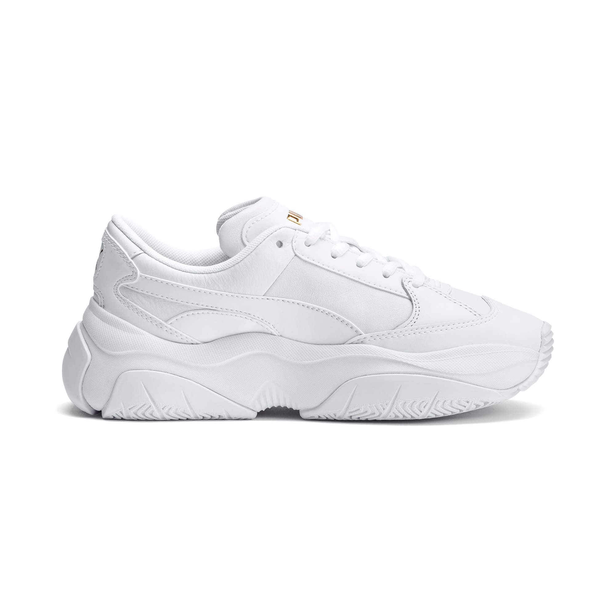 Thumbnail 5 of STORM.Y Leather Women's Trainers, Puma White, medium