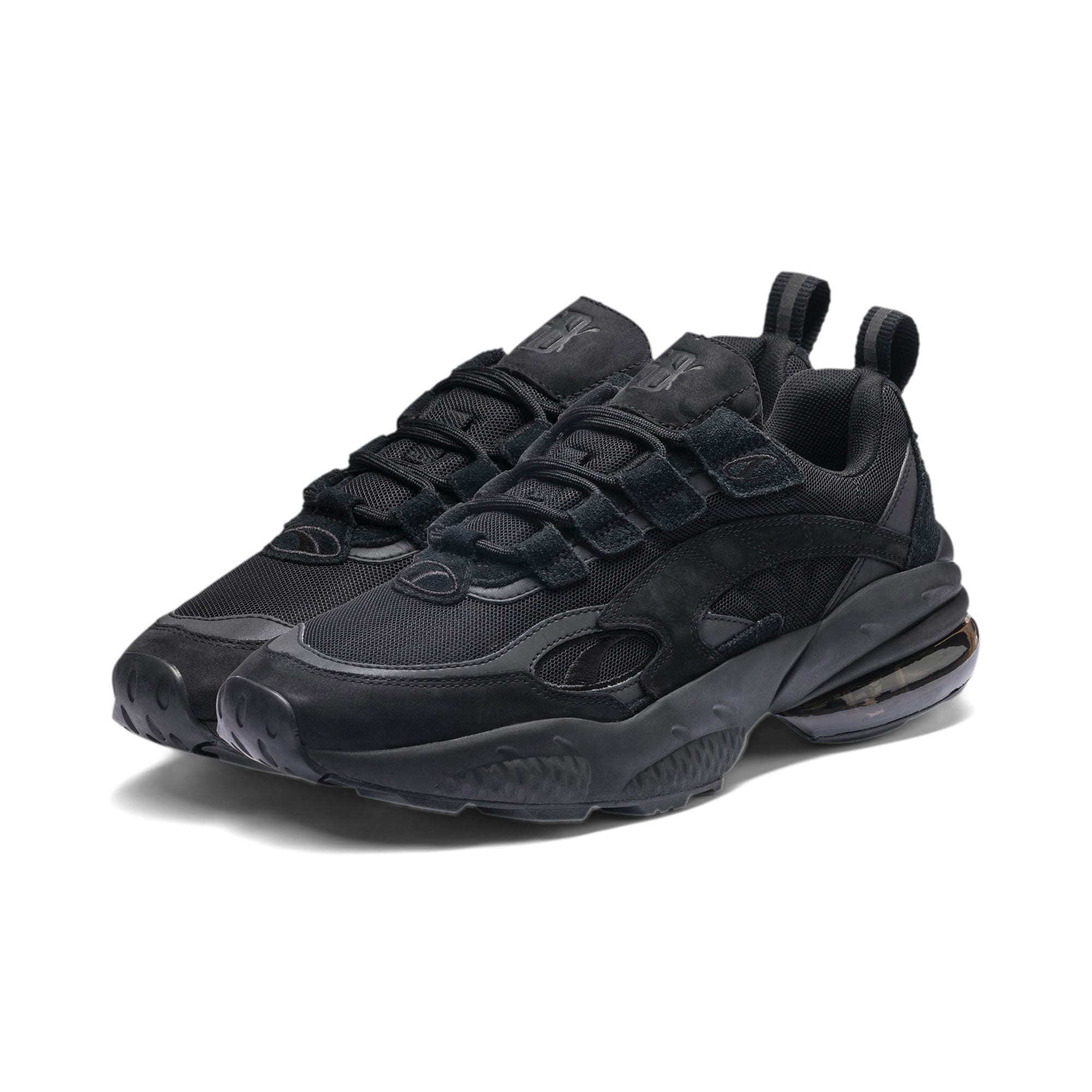 Thumbnail 2 of CELL Venom Blackout Sneakers, Puma Black-Puma Black, medium