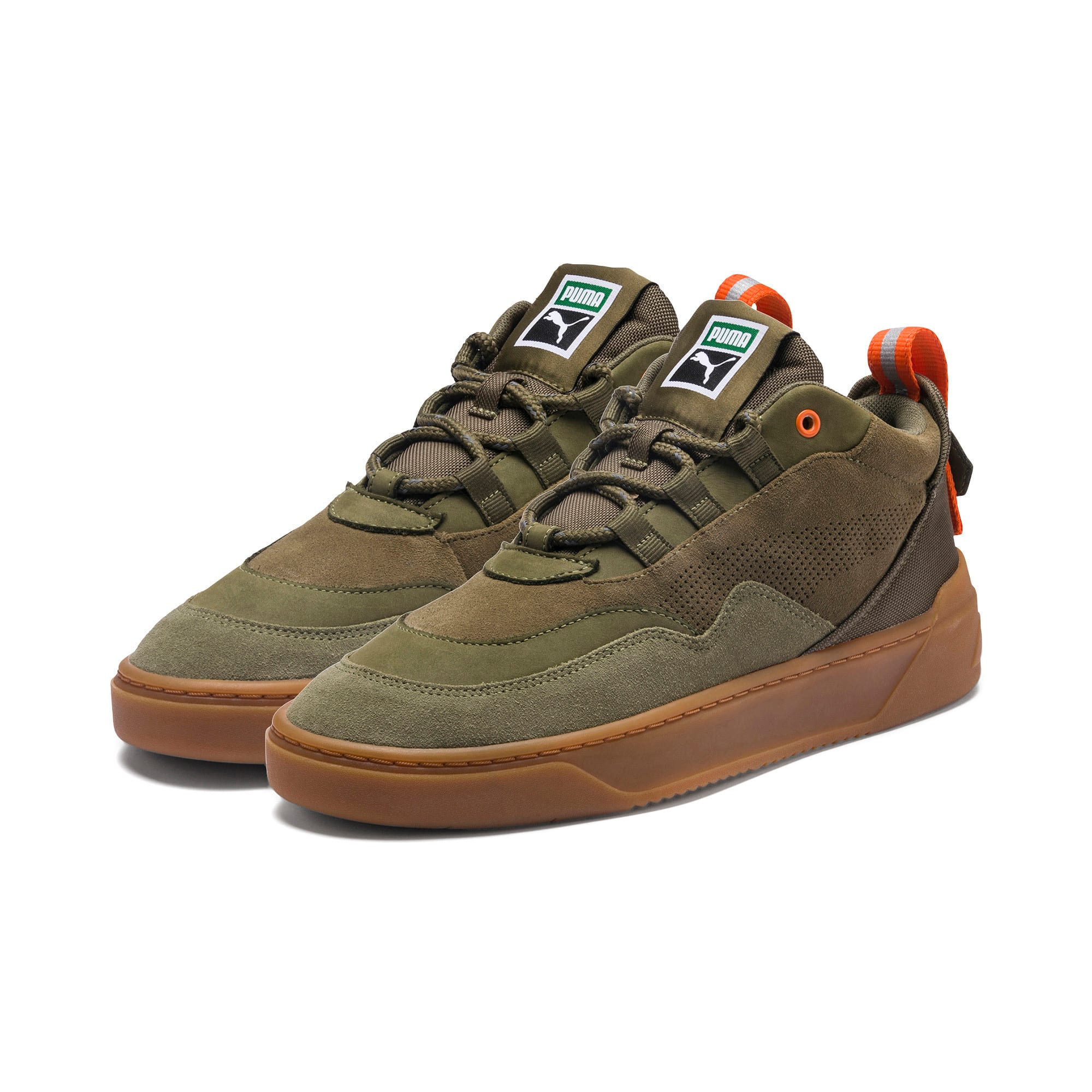 Thumbnail 2 of Cali Zero Demi Army Green Sneakers, Capulet Olive-Burnt Olive, medium