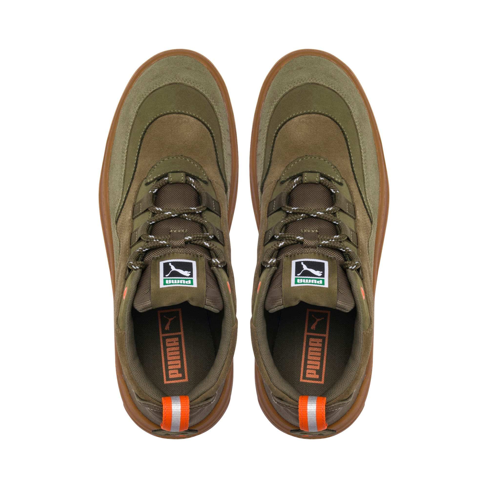 Thumbnail 6 of Cali Zero Demi Army Green Sneakers, Capulet Olive-Burnt Olive, medium