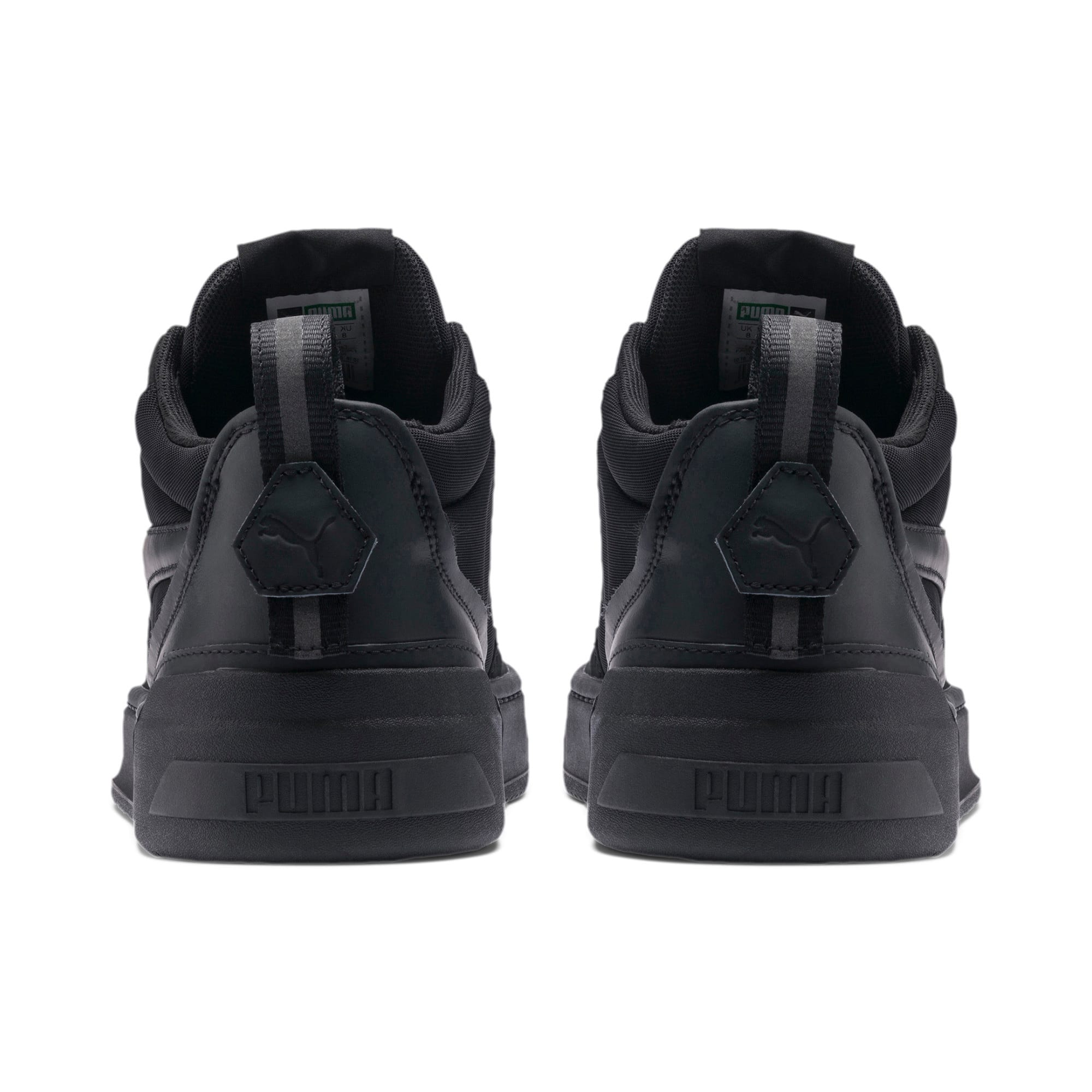 Thumbnail 3 of Cali Zero Demi Triple Black Trainers, Puma Black-Puma Black, medium