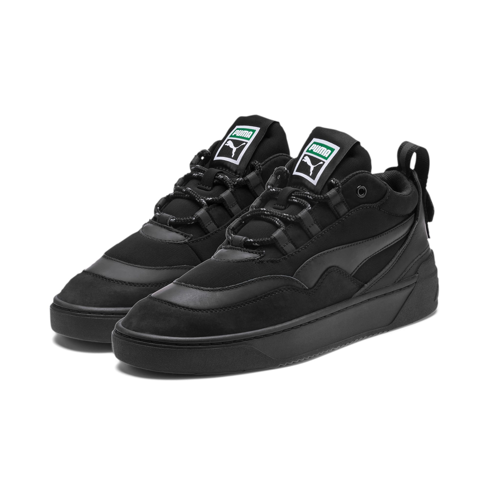 Thumbnail 2 of Cali Zero Demi Triple Black Trainers, Puma Black-Puma Black, medium