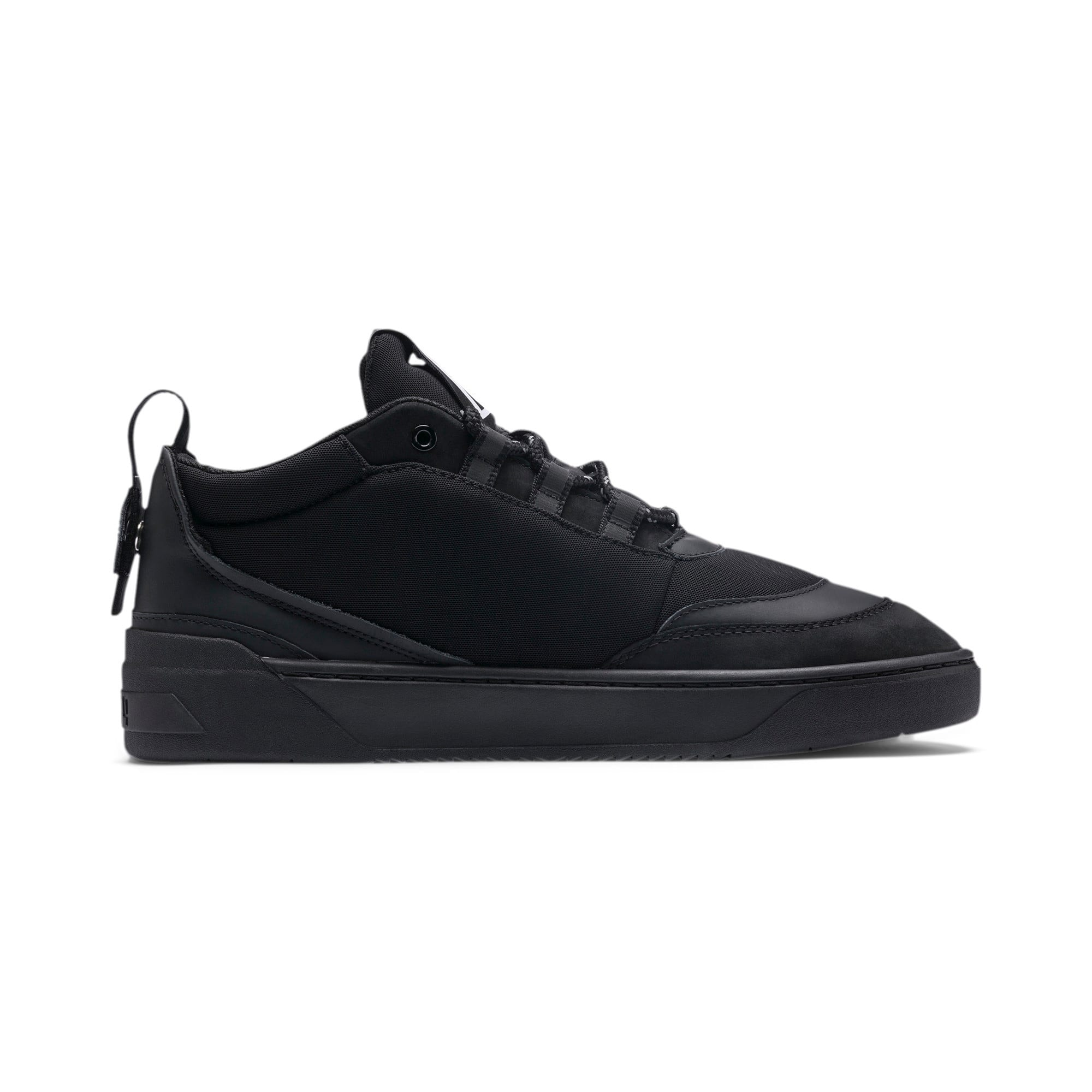 Thumbnail 5 of Cali Zero Demi Triple Black Trainers, Puma Black-Puma Black, medium