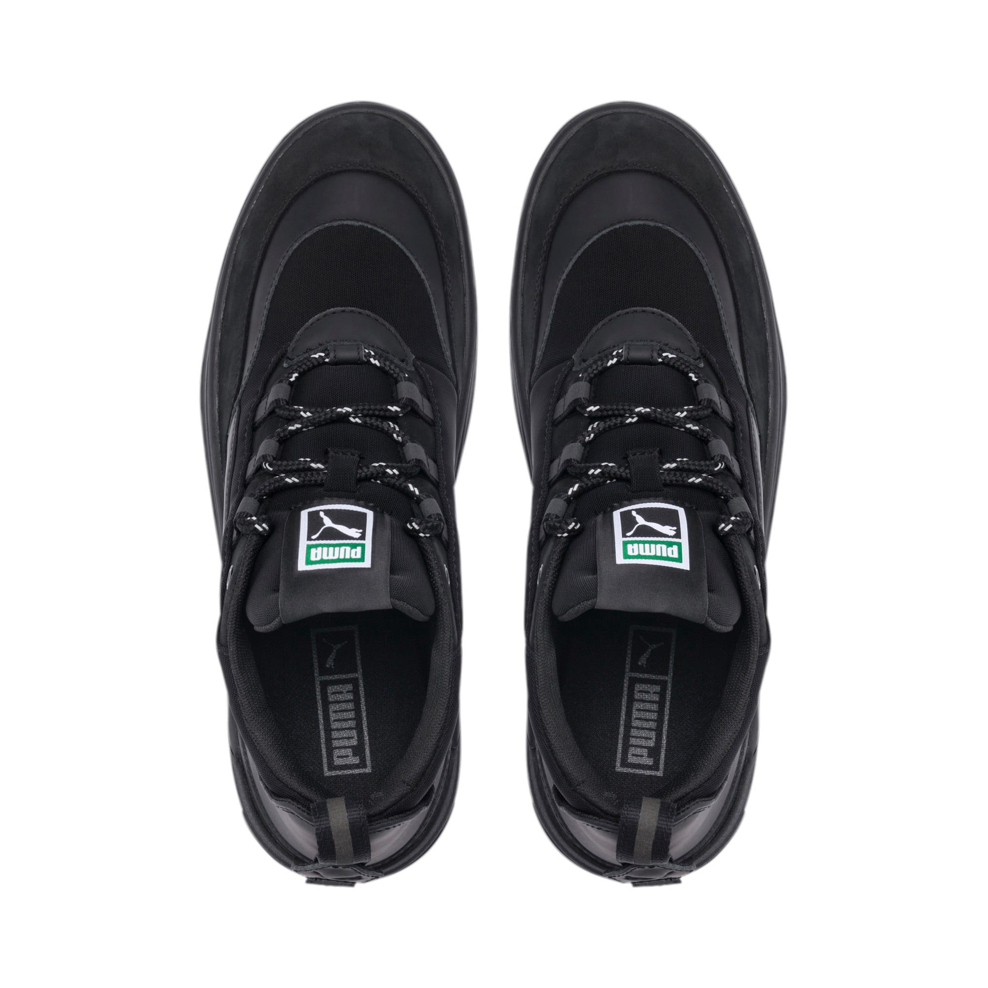 Thumbnail 6 of Cali Zero Demi Triple Black Trainers, Puma Black-Puma Black, medium