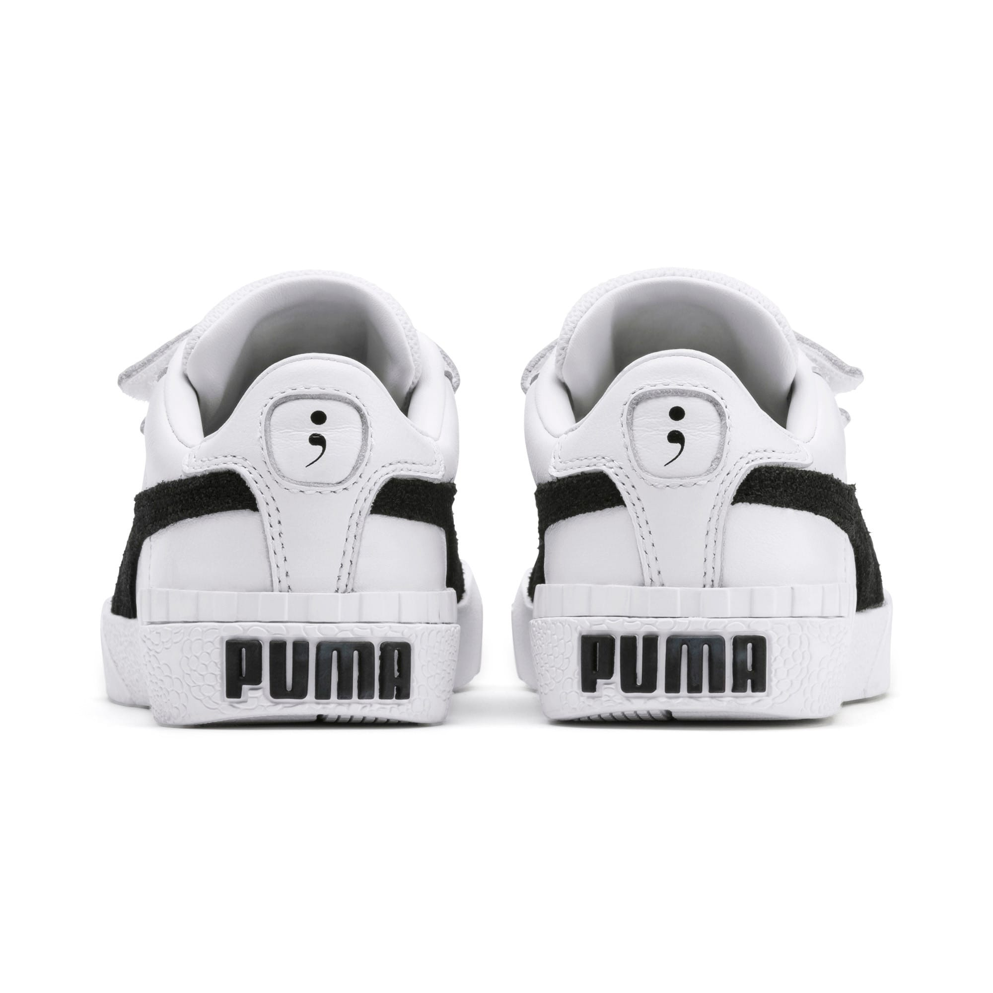 Thumbnail 3 of SG x Cali B+W Little Kids' Shoes, Puma White-Puma Black, medium
