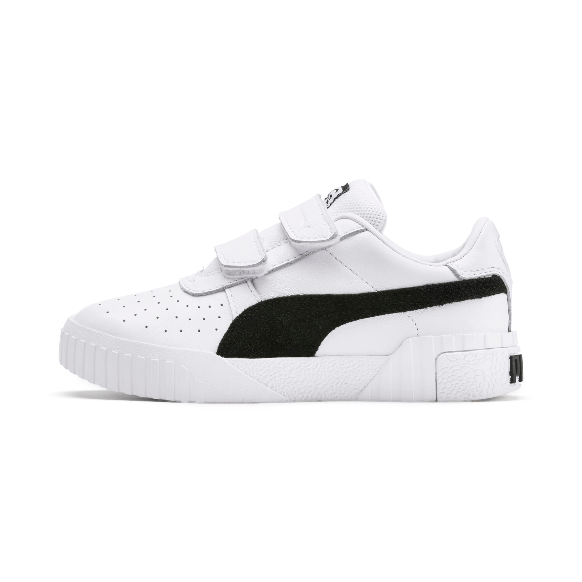 Thumbnail 1 of SG x Cali B+W Little Kids' Shoes, Puma White-Puma Black, medium