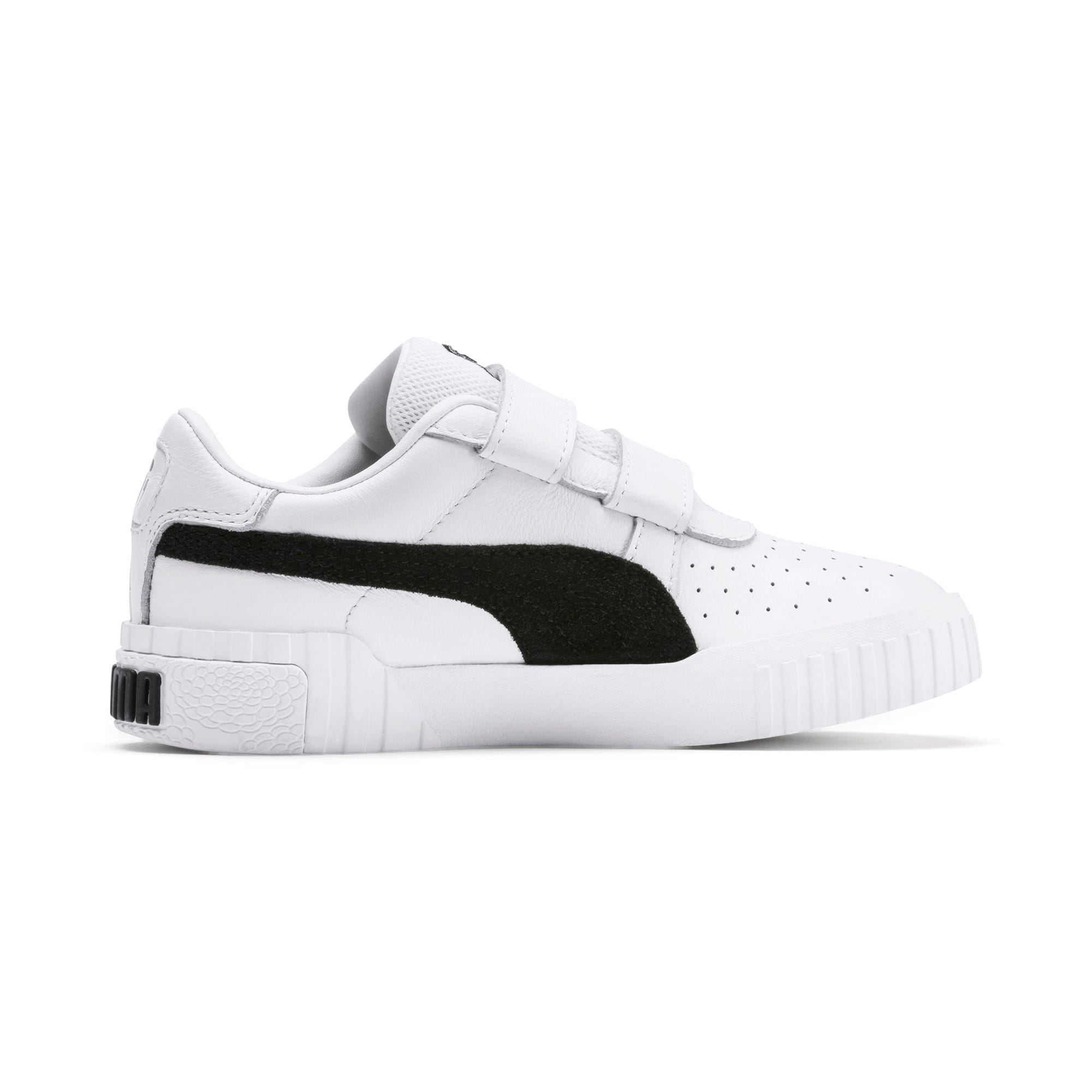 Thumbnail 5 of SG x Cali B+W Little Kids' Shoes, Puma White-Puma Black, medium