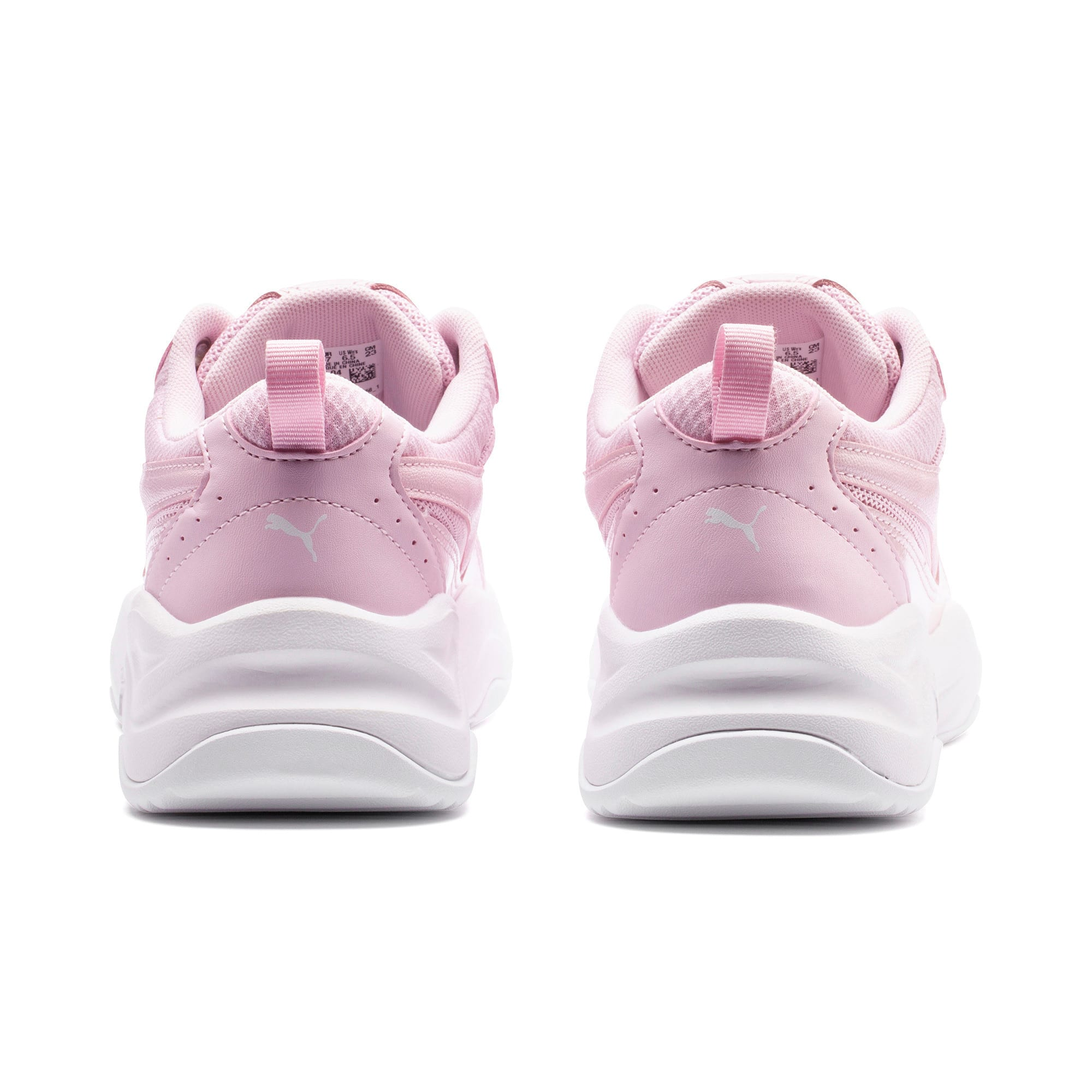 Thumbnail 3 of Cilia Patent Women's Trainers, Pink Lady-Puma White, medium