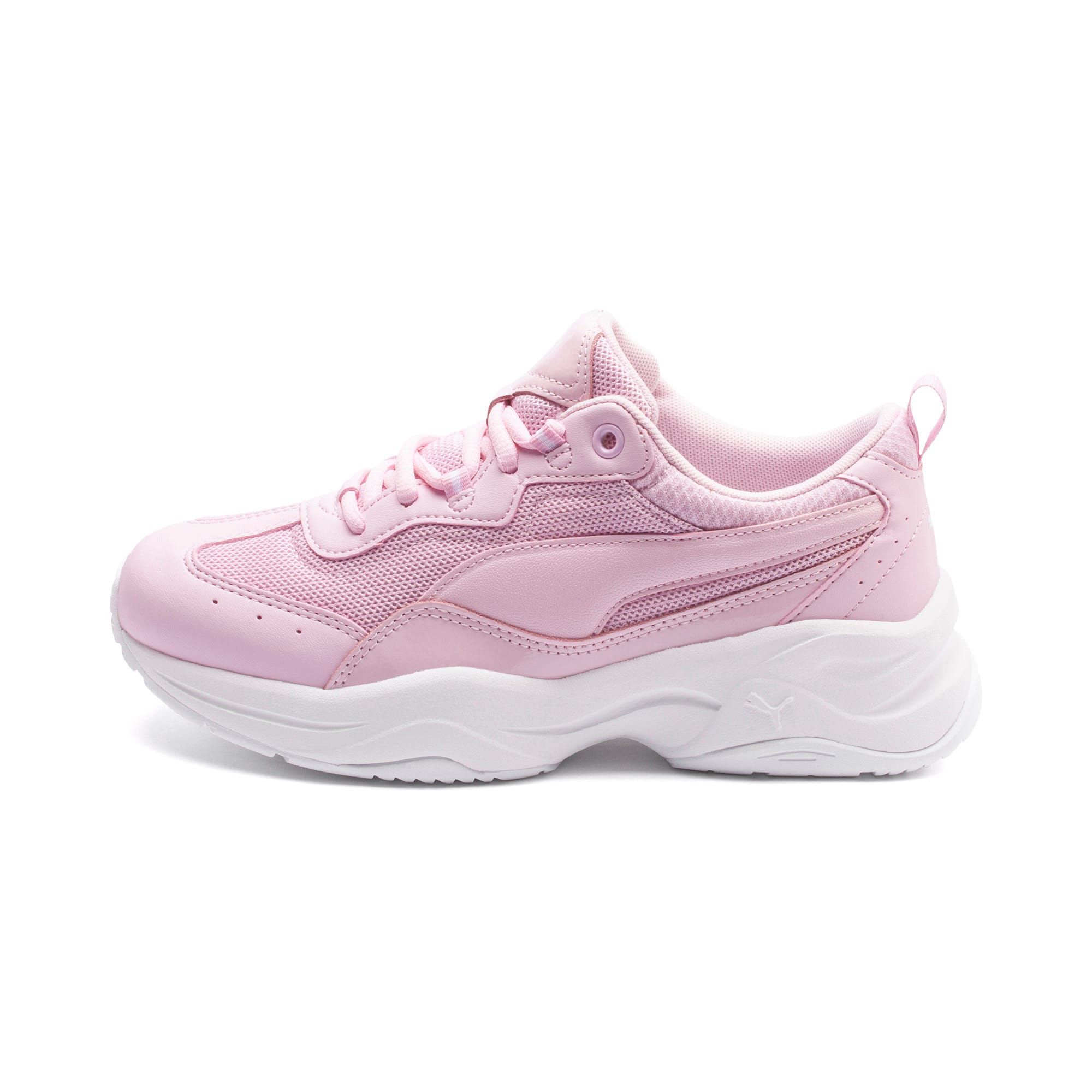 Thumbnail 1 of Cilia Patent Women's Trainers, Pink Lady-Puma White, medium