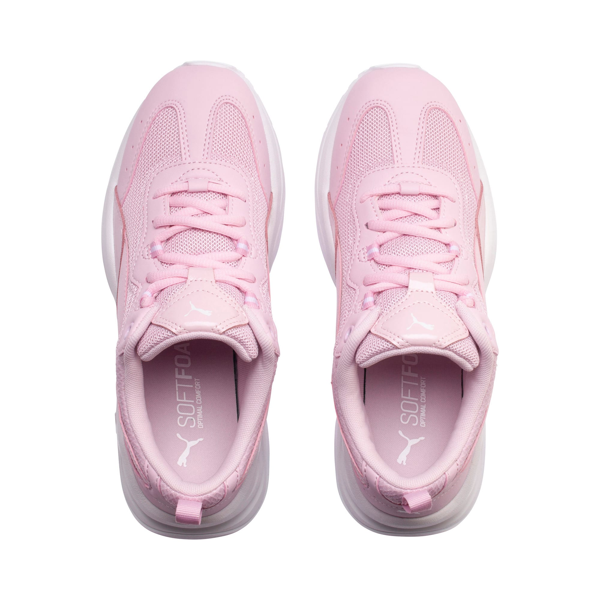 Thumbnail 6 of Cilia Patent Women's Trainers, Pink Lady-Puma White, medium