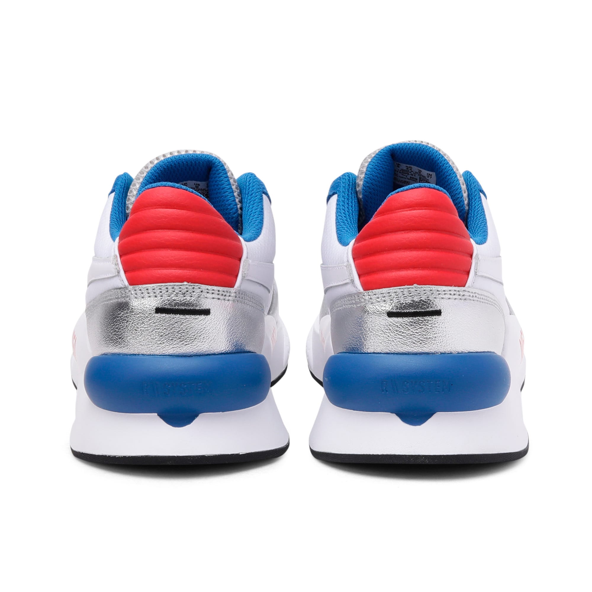 Thumbnail 3 of RS 9.8 Space Explorer Trainers, Puma White-Puma Silver, medium-IND