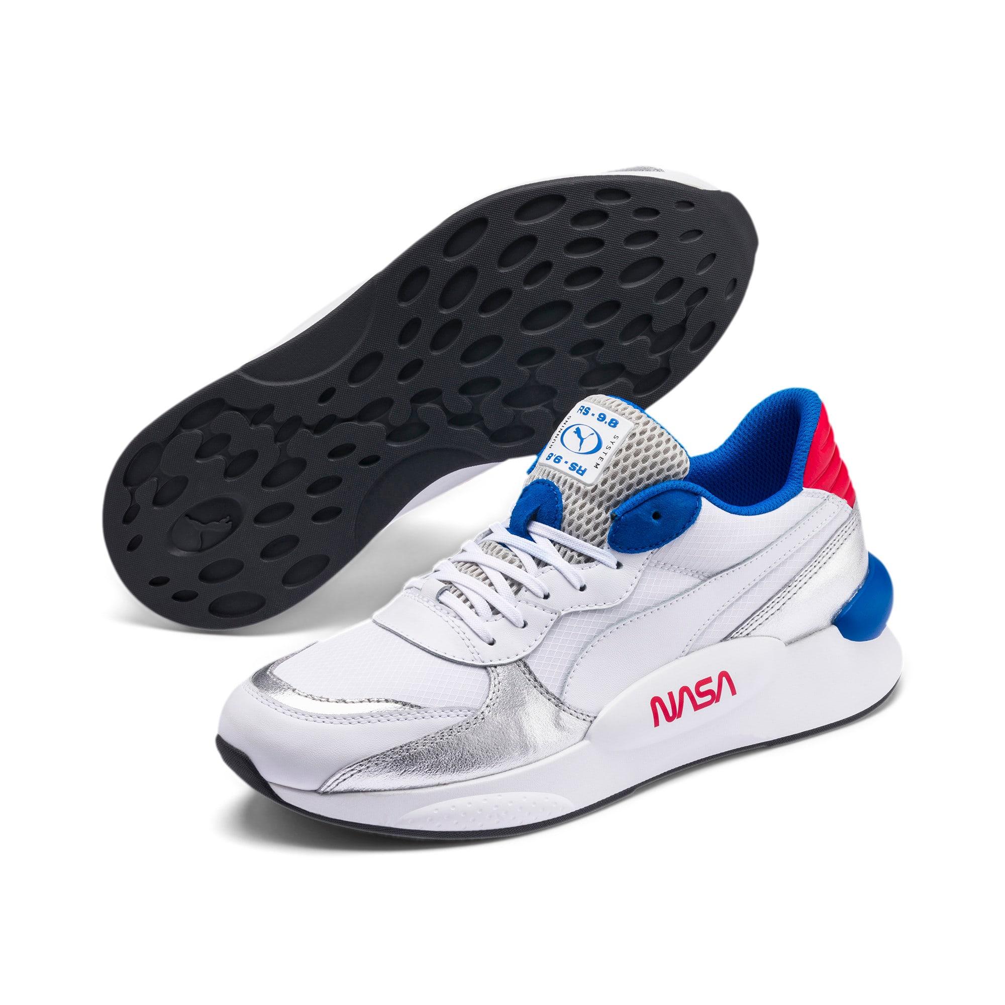 Thumbnail 2 of RS 9.8 Space Agency Sneakers, Puma White-Puma Silver, medium