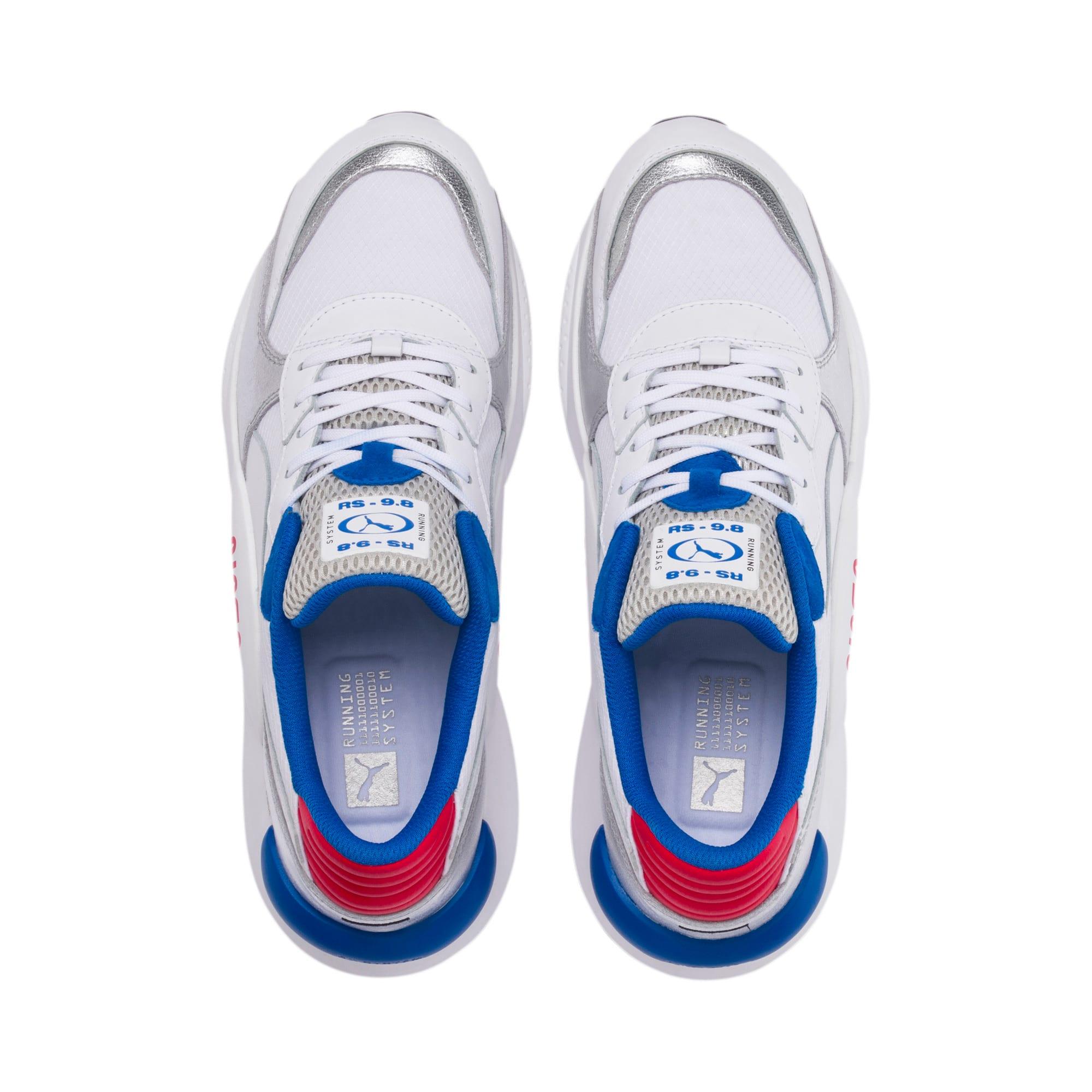Thumbnail 6 of RS 9.8 Space Agency Sneakers, Puma White-Puma Silver, medium