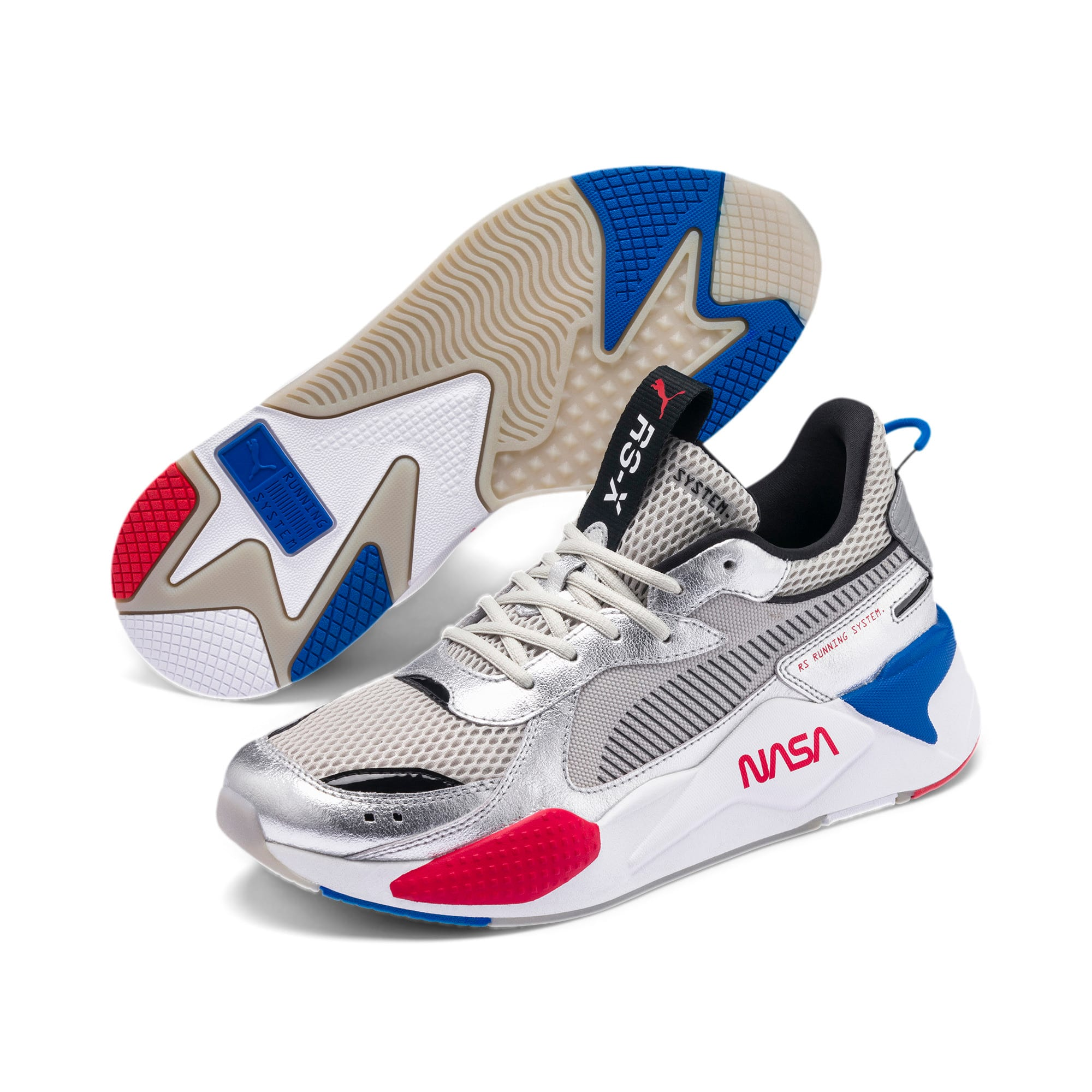 Thumbnail 2 of RS-X Space Explorer Trainers, Puma Silver-Gray Violet, medium