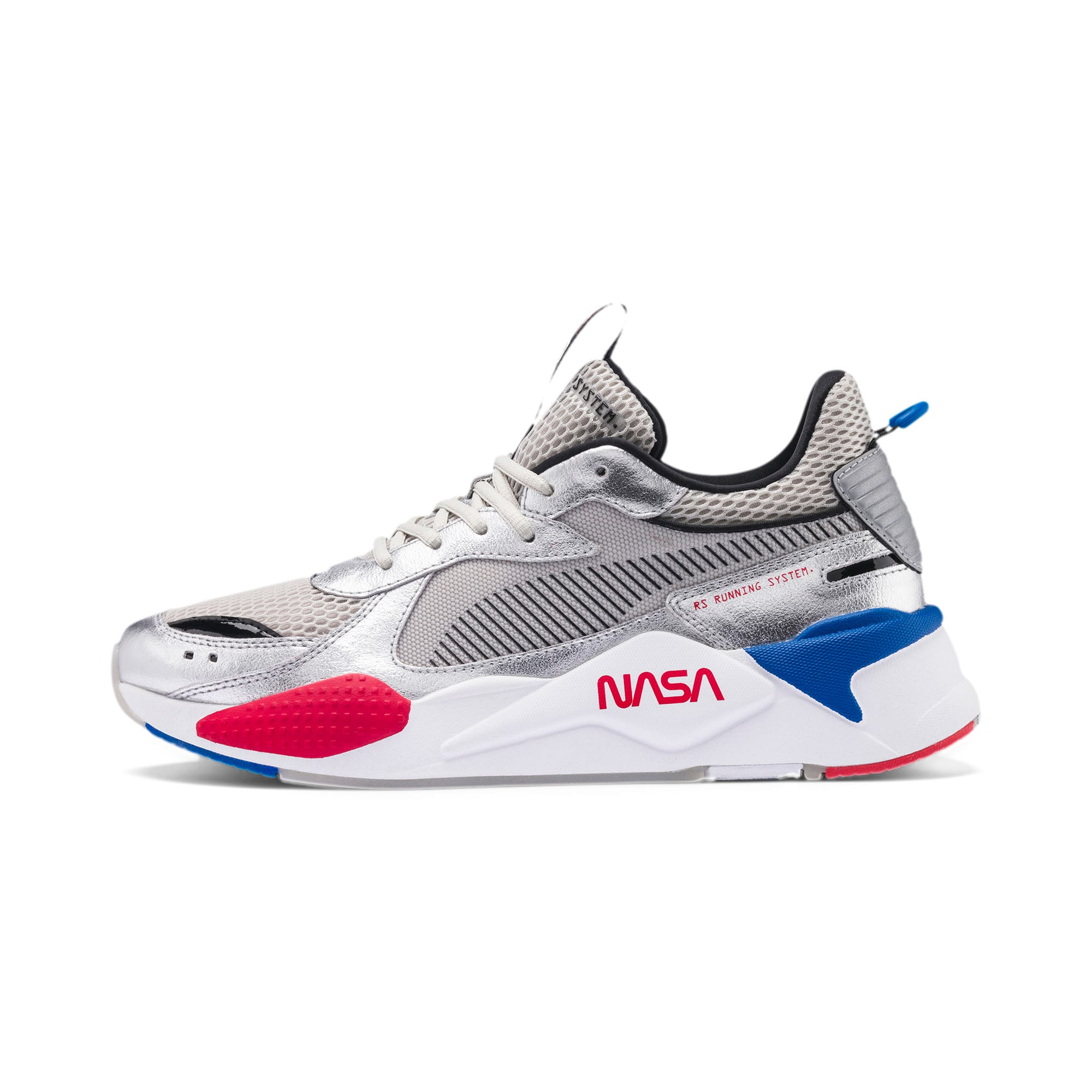 Thumbnail 1 of RS-X Space Explorer Trainers, Puma Silver-Gray Violet, medium