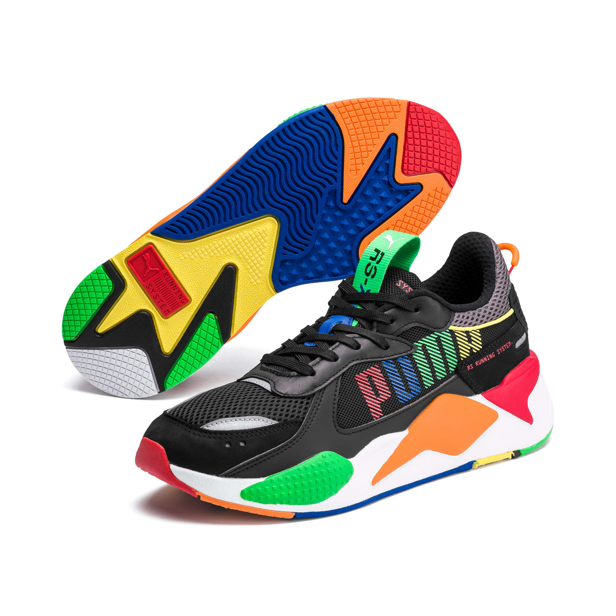 Thumbnail 2 of RS-X Bold Trainers, Blk-ANDEANTOUCAN-OraPopsicle, medium