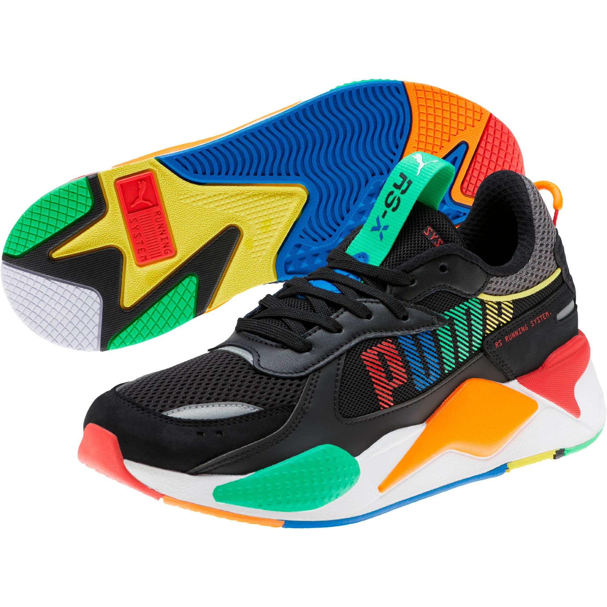 Thumbnail 2 of RS-X Bold Sneakers, Blk-ANDEANTOUCAN-OraPopsicle, medium