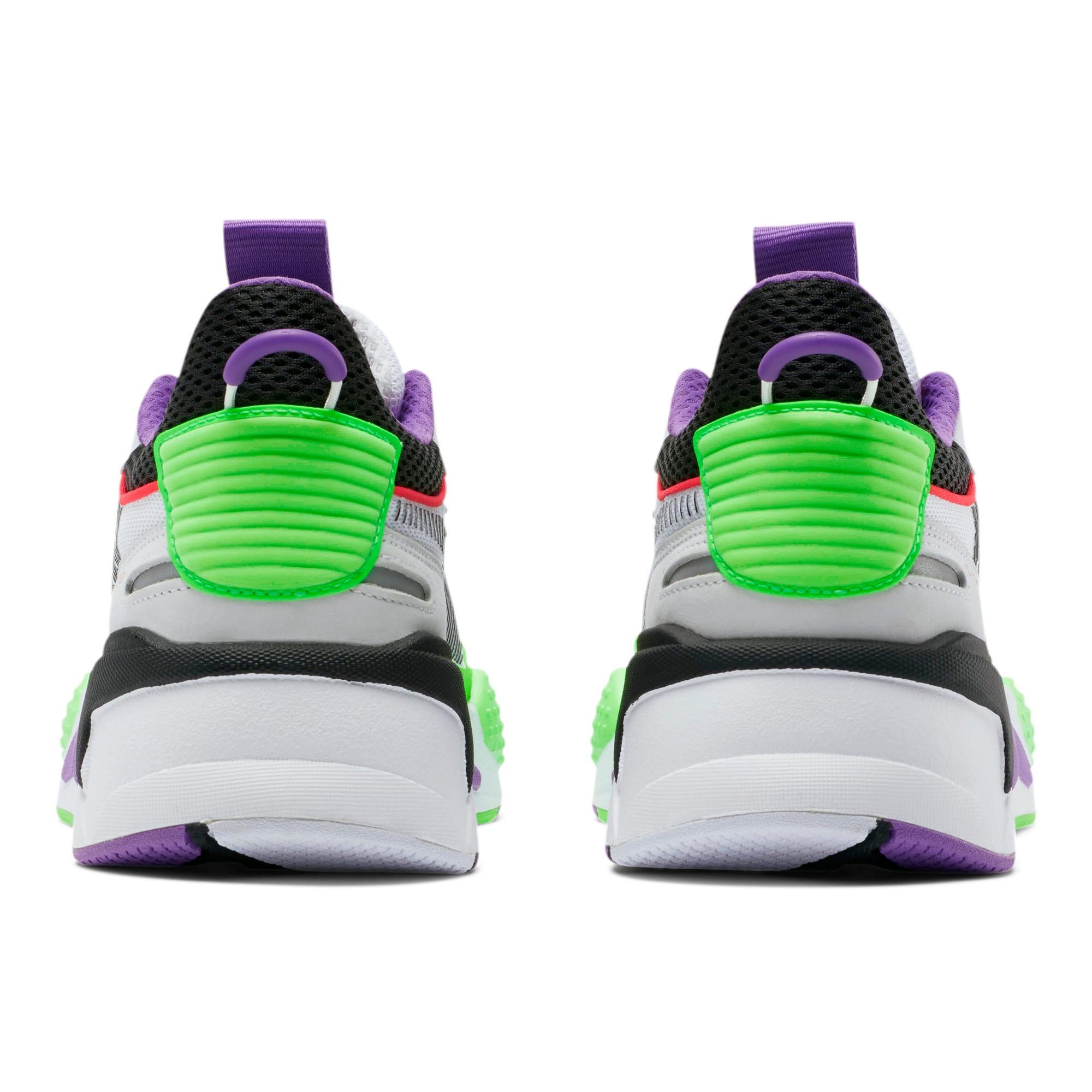 Thumbnail 3 of RS-X Bold Sneakers, PWhite-Gr Gecko-Royal Lilac, medium