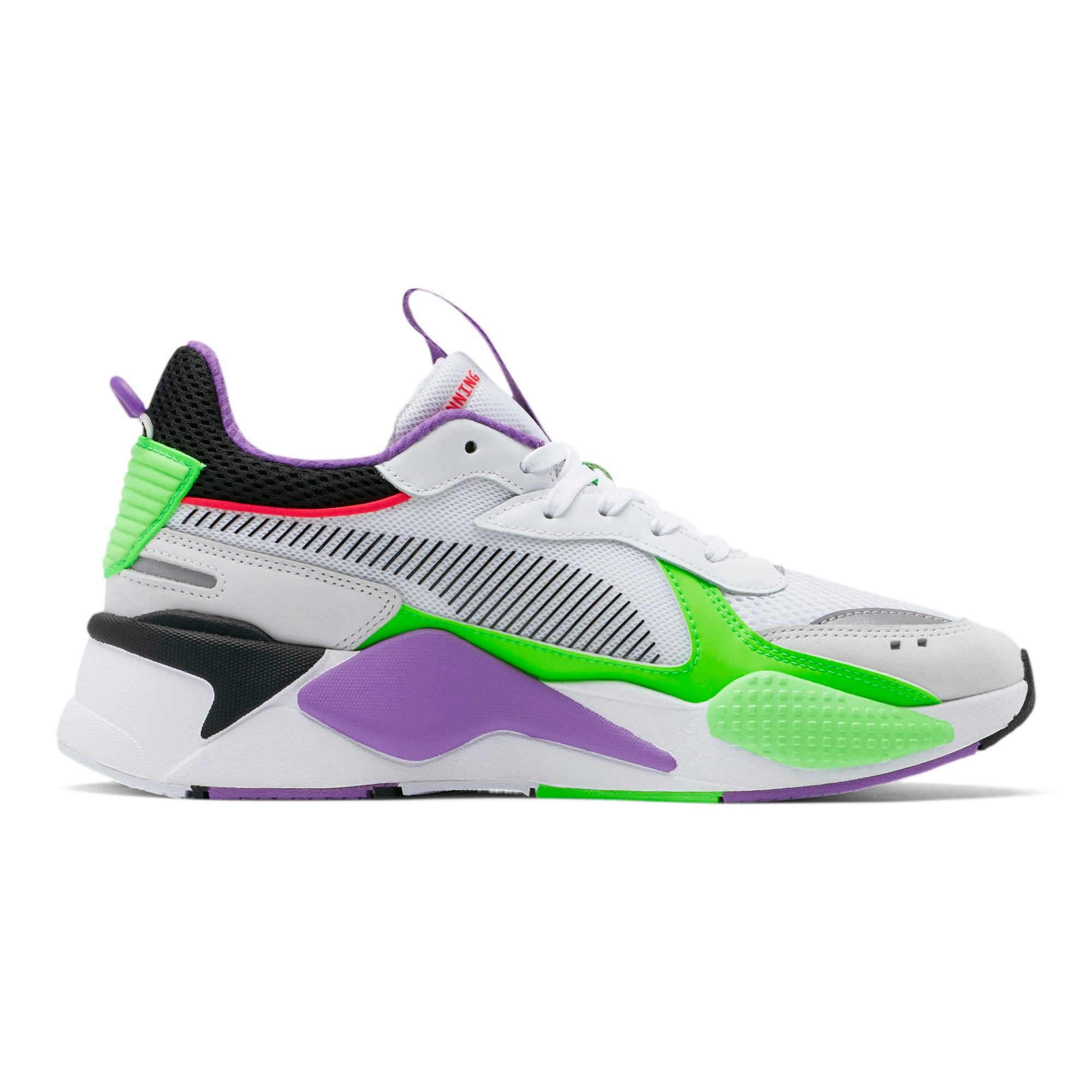 Thumbnail 5 of RS-X Bold Sneakers, PWhite-Gr Gecko-Royal Lilac, medium