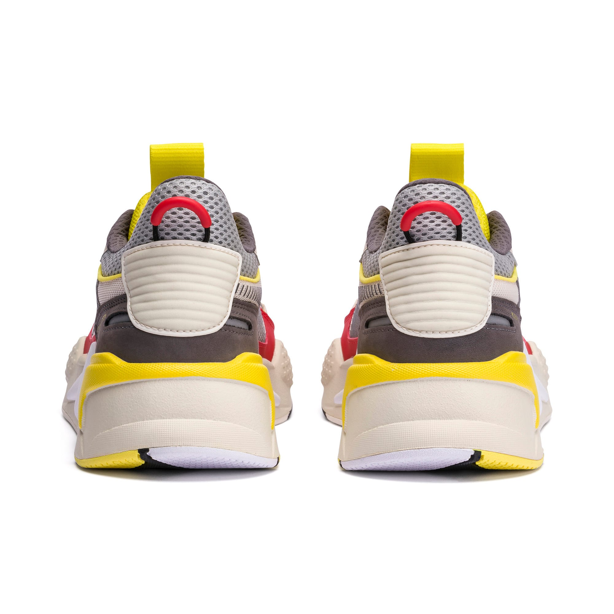 Thumbnail 3 of RS-X Bold Trainers, Whisper White-High Risk Red, medium
