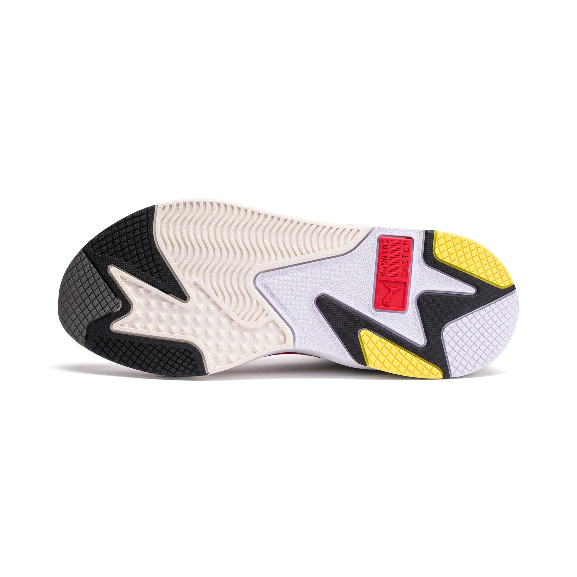 Thumbnail 4 of RS-X Bold Trainers, Whisper White-High Risk Red, medium