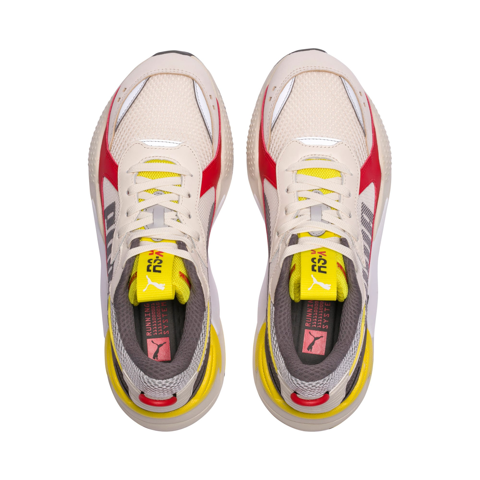 Thumbnail 6 of RS-X Bold Trainers, Whisper White-High Risk Red, medium