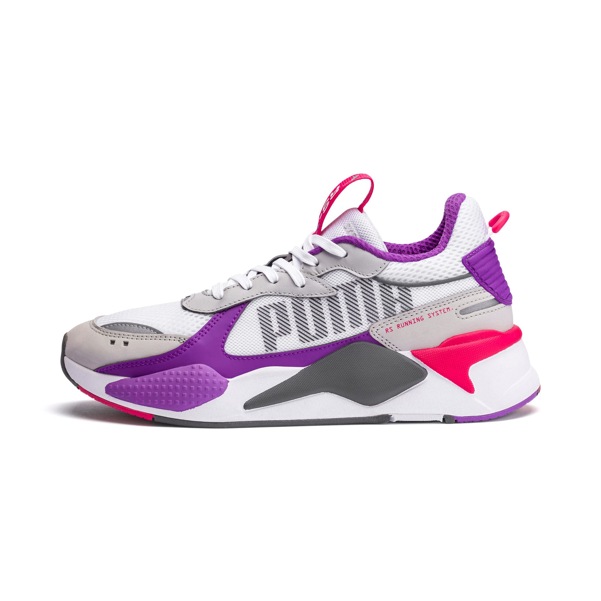 Thumbnail 1 of RS-X Bold Trainers, PWhite-High Rise-Royal Lilac, medium