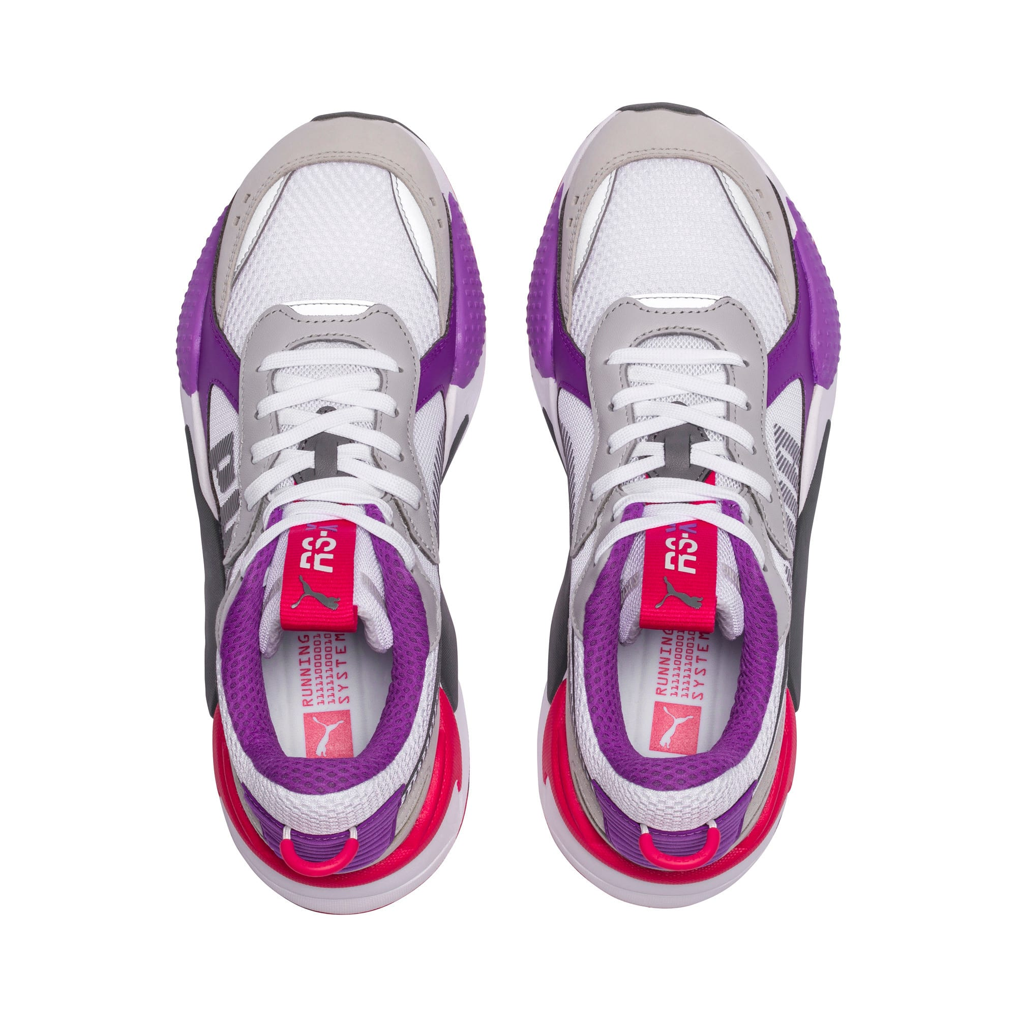 Thumbnail 6 of RS-X Bold Trainers, PWhite-High Rise-Royal Lilac, medium