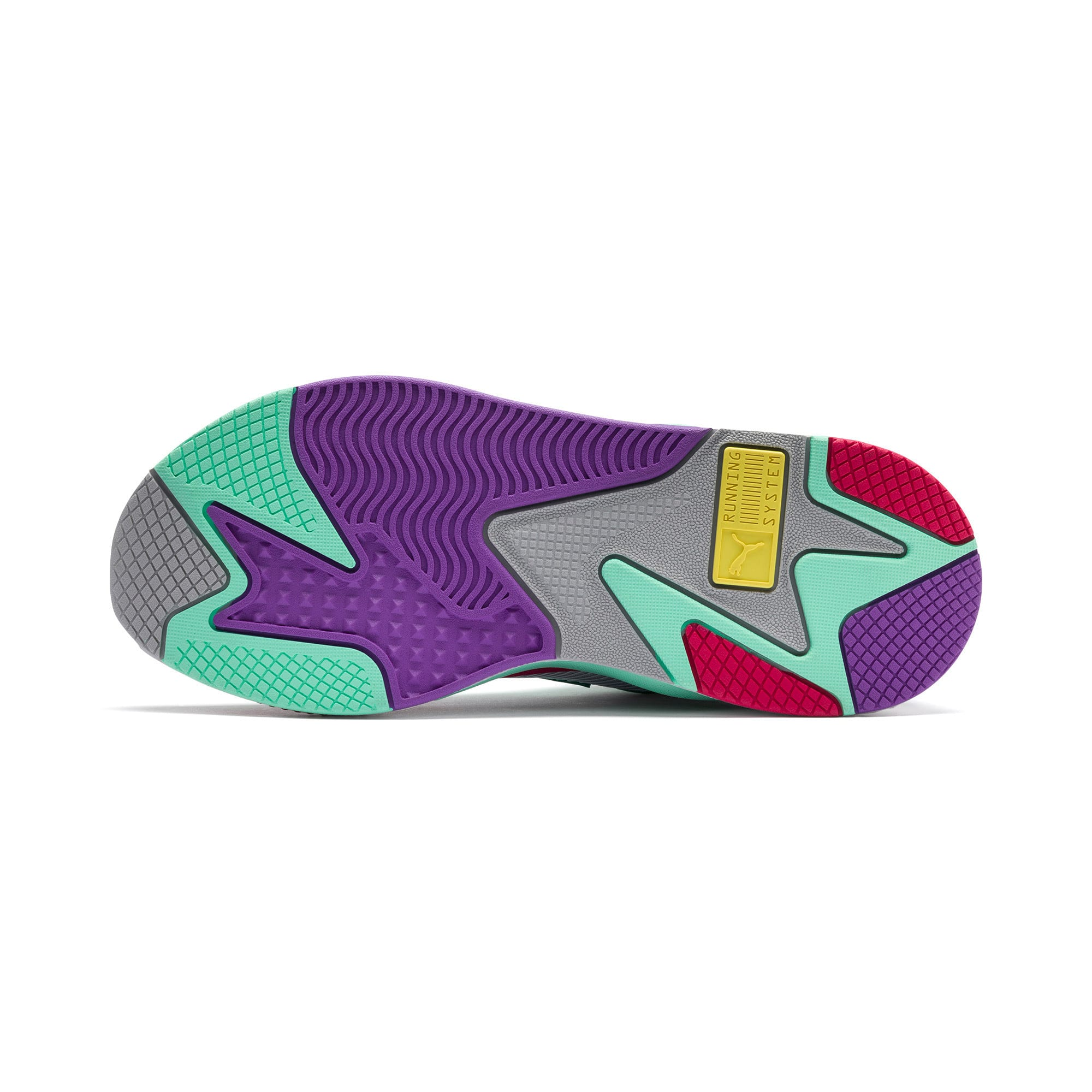 Thumbnail 4 of RS-X Bold Trainers, PurHeather-GrGlimmer-LPotion, medium