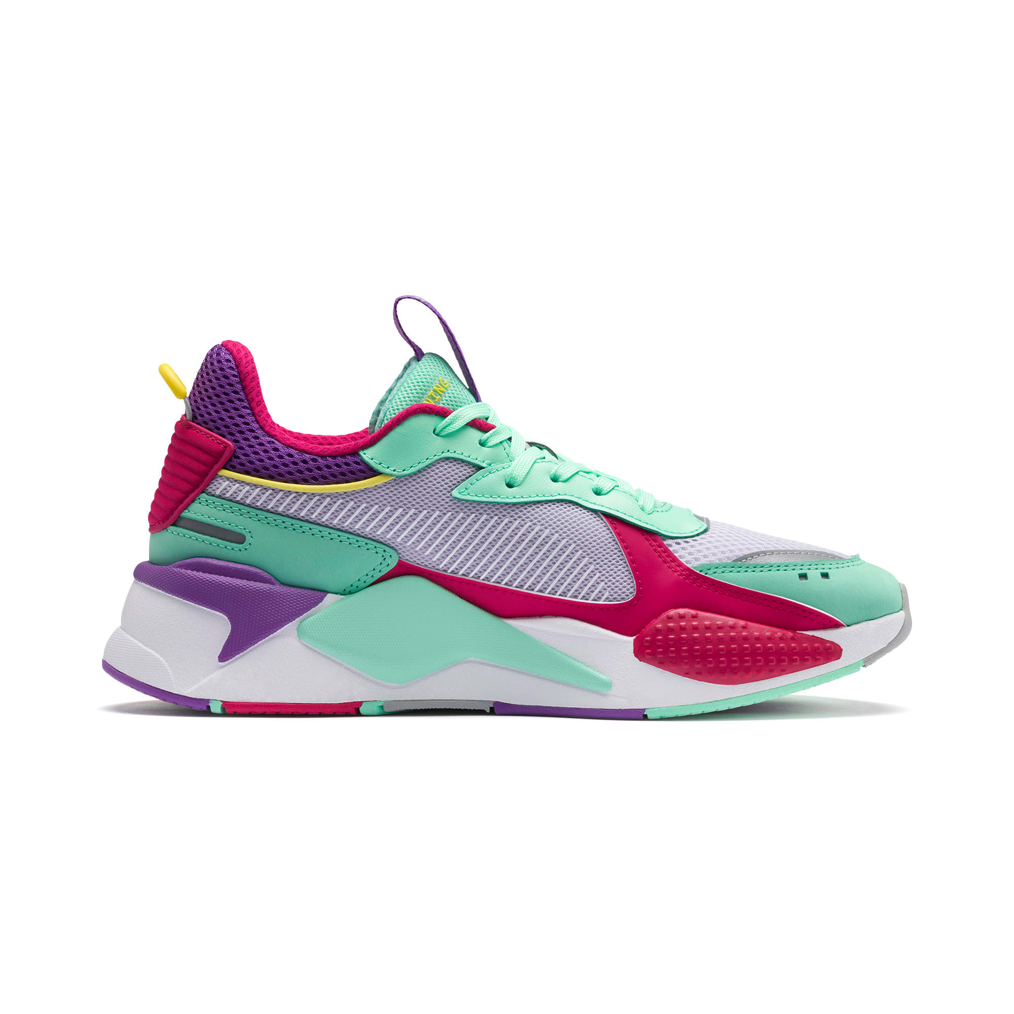Thumbnail 5 of RS-X Bold Trainers, PurHeather-GrGlimmer-LPotion, medium