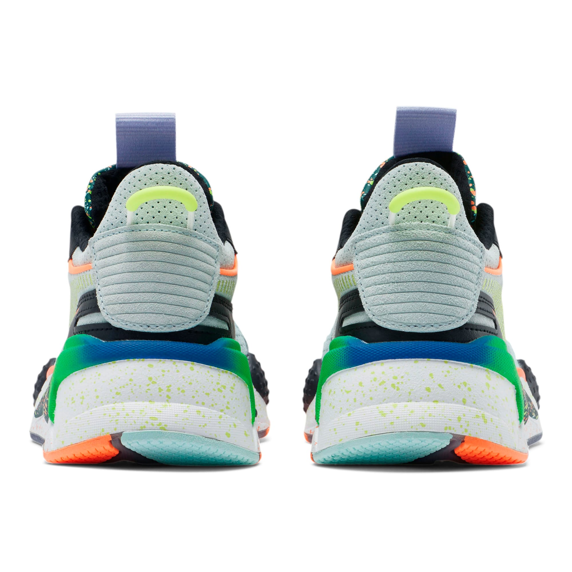 Thumbnail 3 of RS-X Fourth Dimension Sneakers JR, Fair Aqua-Ponderosa Pine, medium