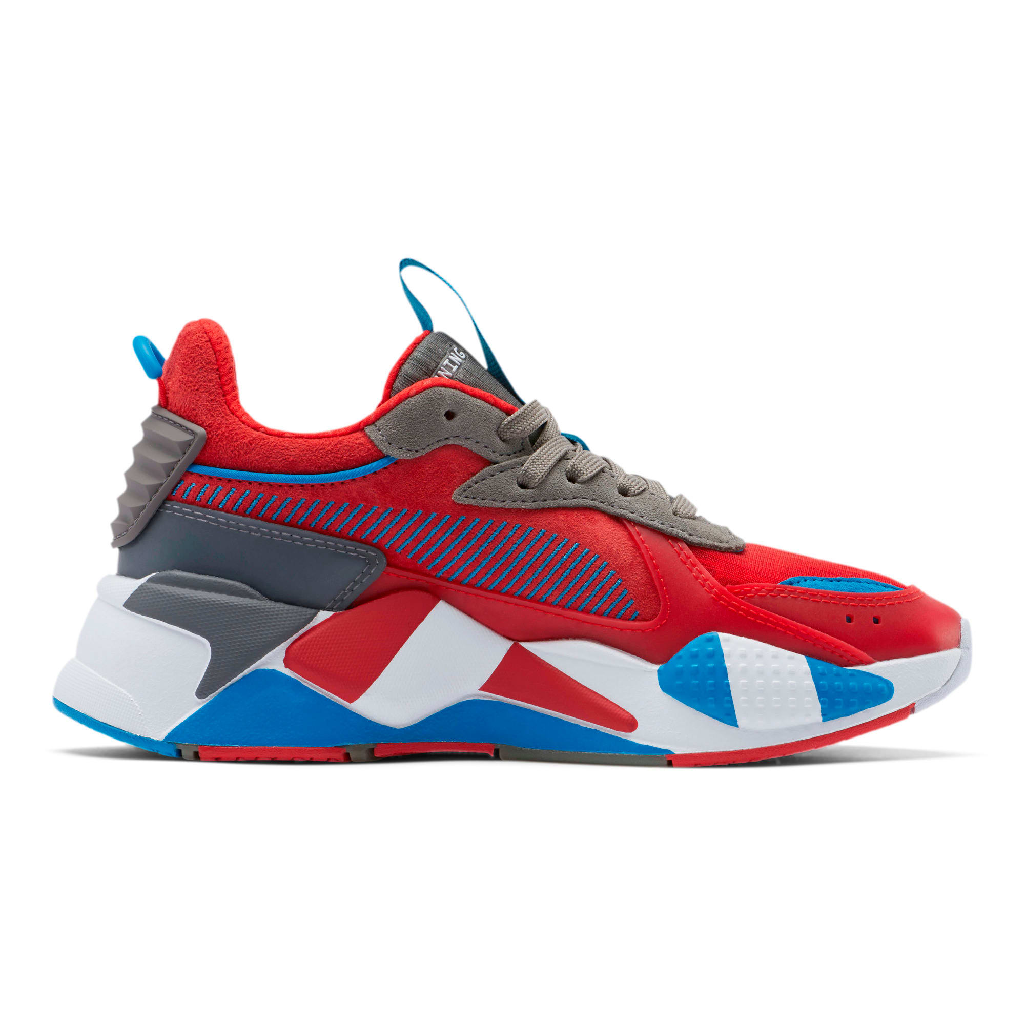 Thumbnail 5 of RS-X Retro Sneakers JR, Hi Ri Red-Ste Gray-In Bunti, medium