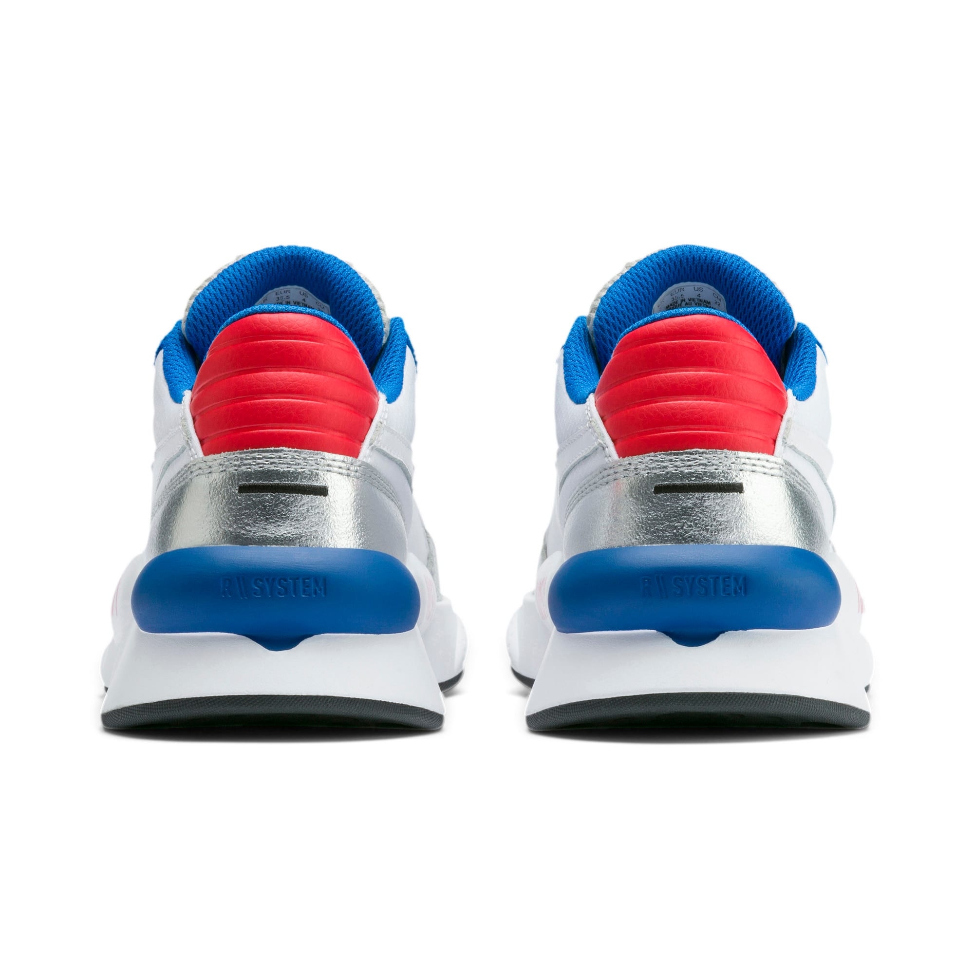 Thumbnail 3 of RS 9.8 Space Agency Sneakers JR, Puma White-Puma Silver, medium