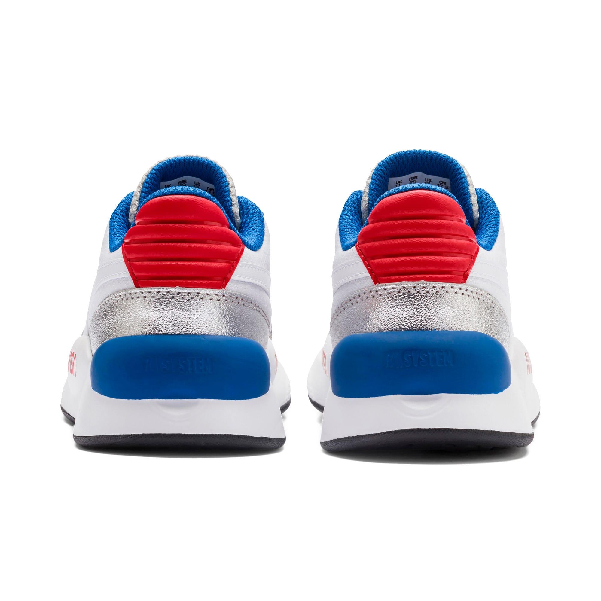 Thumbnail 3 of RS 9.8 Space Agency Little Kids' Shoes, Puma White-Puma Silver, medium