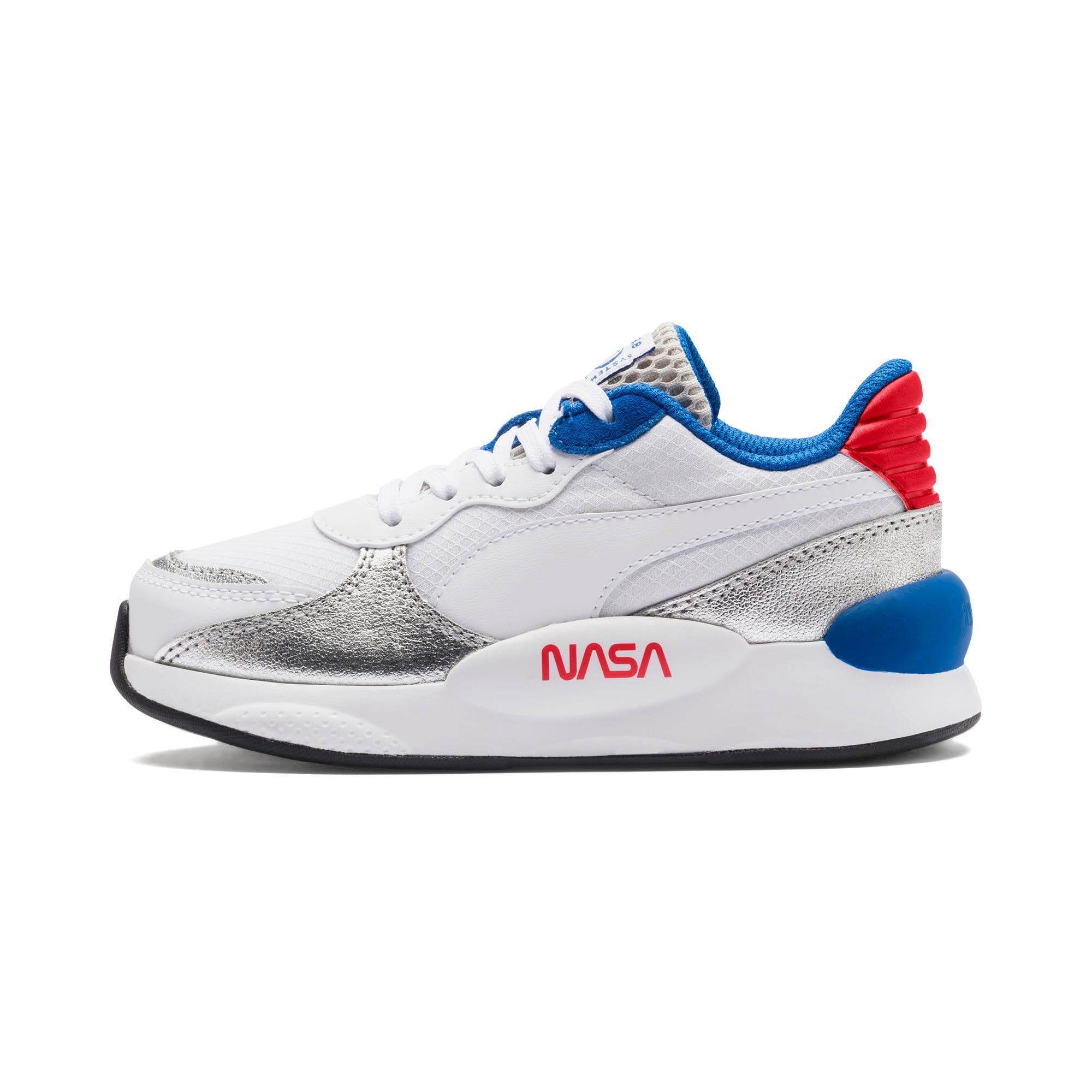 Thumbnail 1 of RS 9.8 Space Agency Little Kids' Shoes, Puma White-Puma Silver, medium