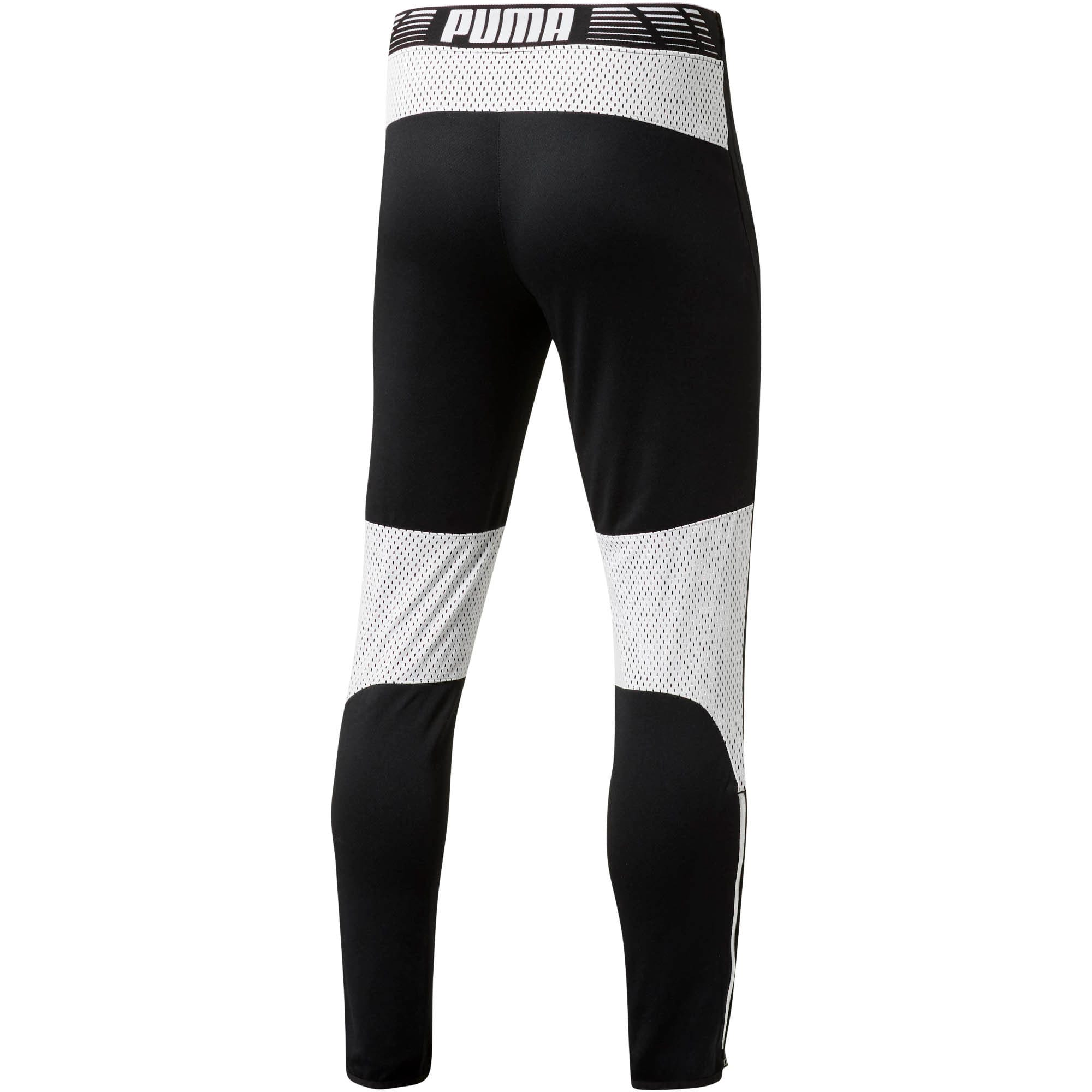 Thumbnail 3 of Flicker Tech Track Pants, Puma Black-White, medium