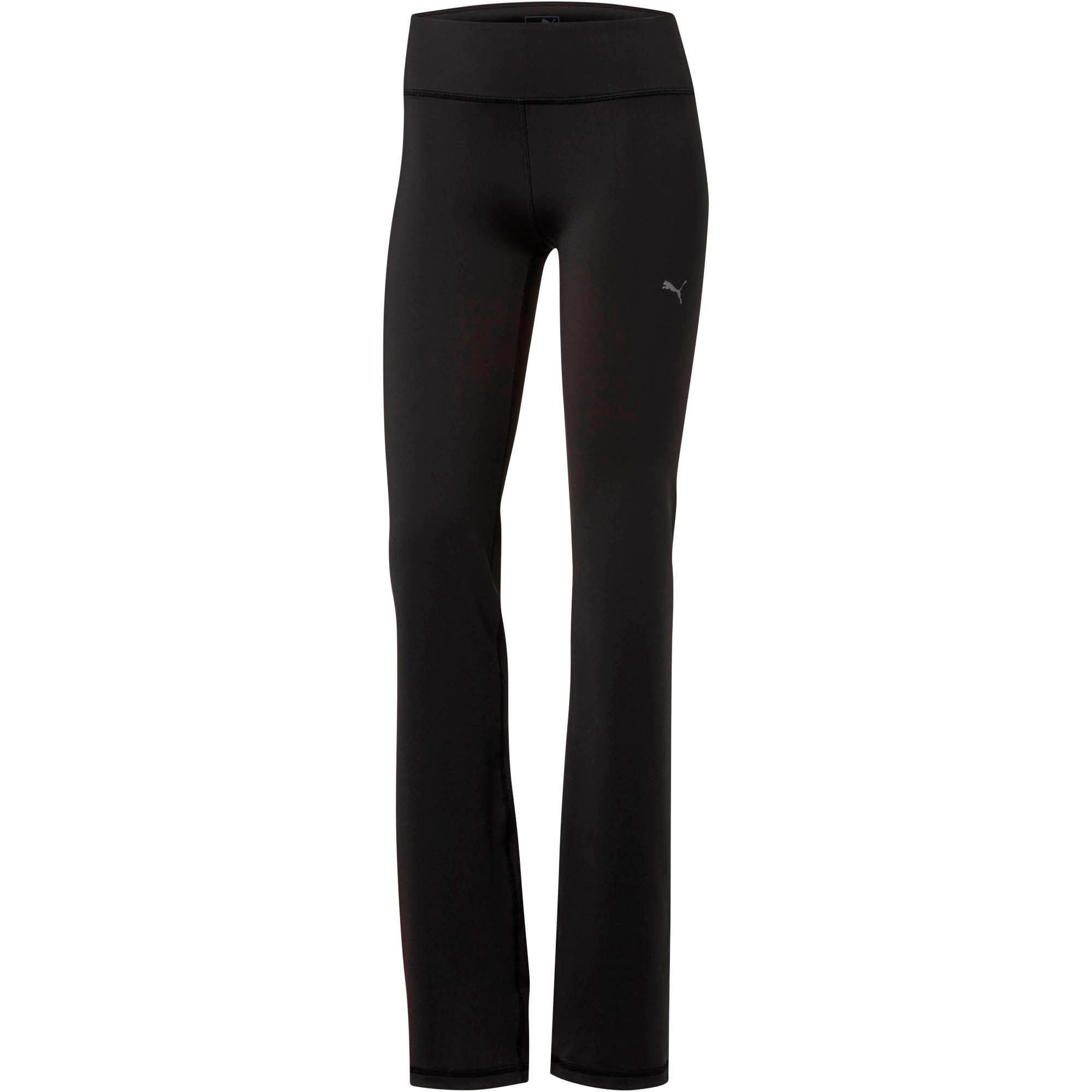 Thumbnail 1 of Fitness Essential Straight Leg Tights, Puma Black, medium