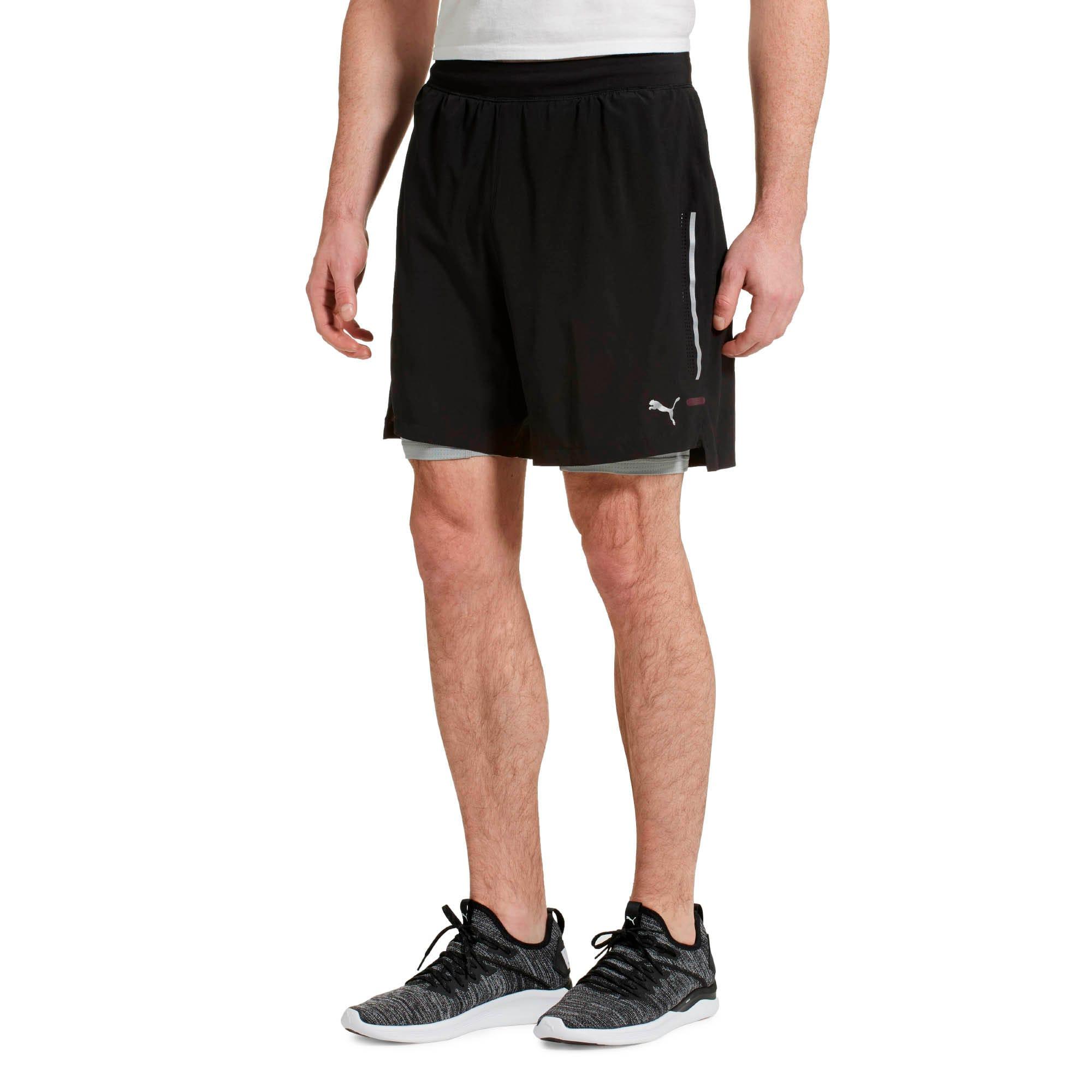 PWRRUN 2-in-1 7'' Men's Running Shorts