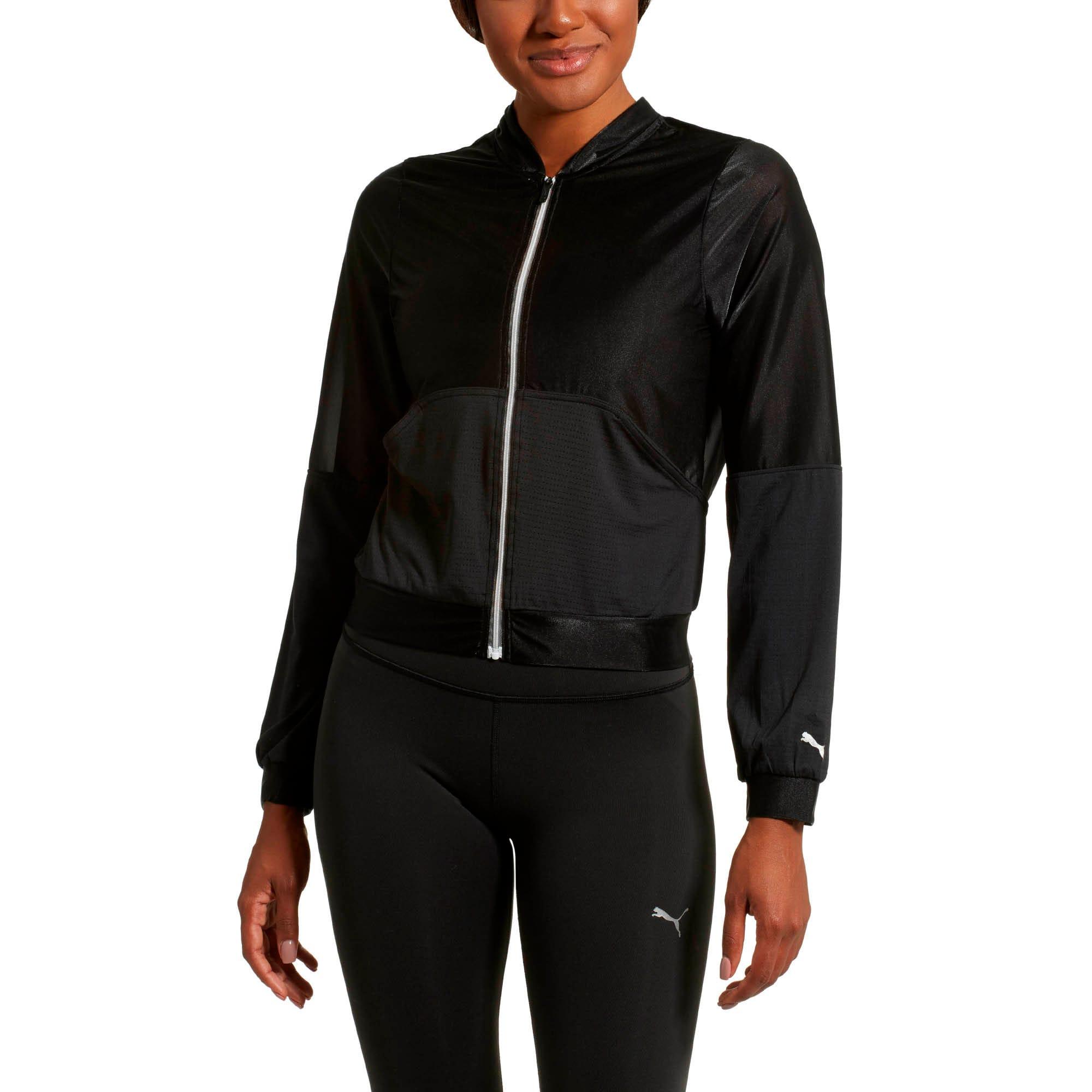 Puma Womens En Pointe Q2 Jacket Black